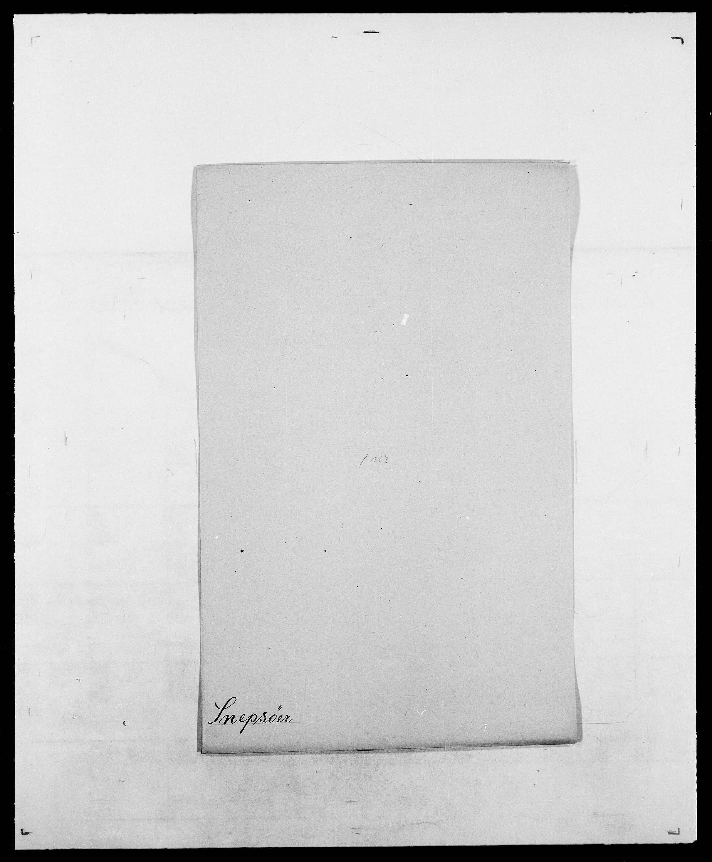 SAO, Delgobe, Charles Antoine - samling, D/Da/L0036: Skaanør - Staverskov, s. 348