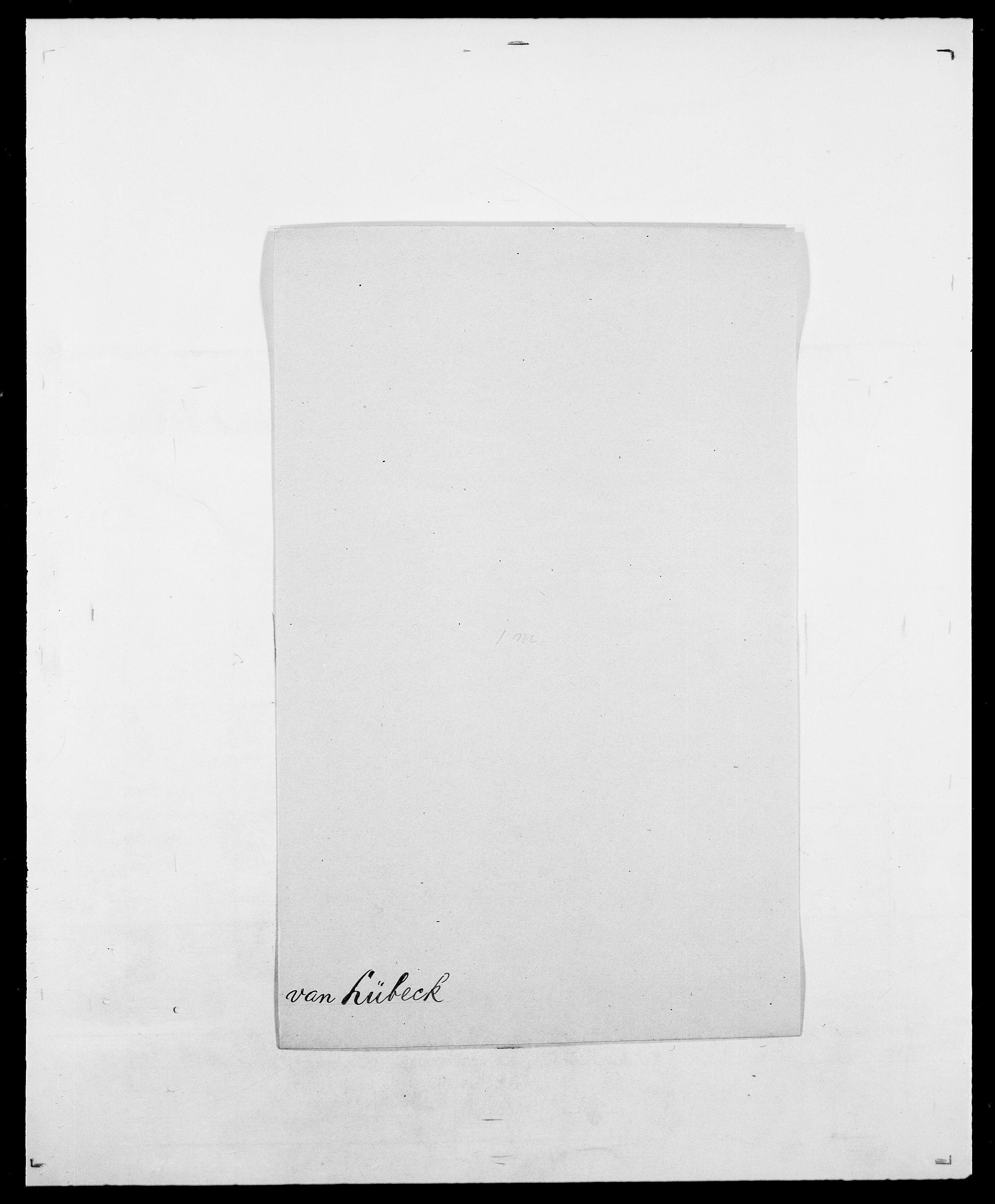 SAO, Delgobe, Charles Antoine - samling, D/Da/L0024: Lobech - Lærum, s. 680