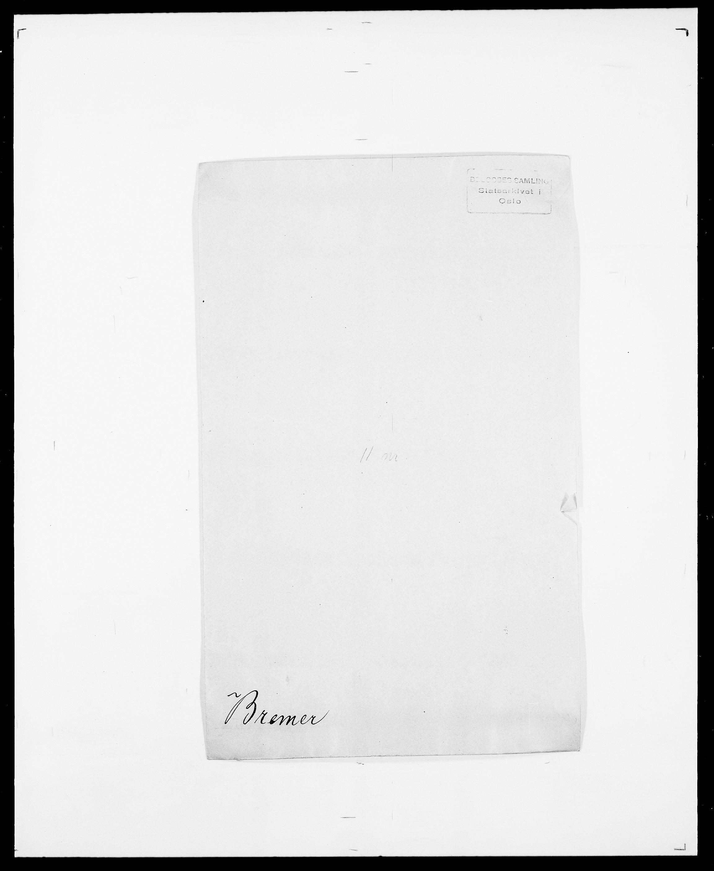 SAO, Delgobe, Charles Antoine - samling, D/Da/L0006: Brambani - Brønø, s. 298