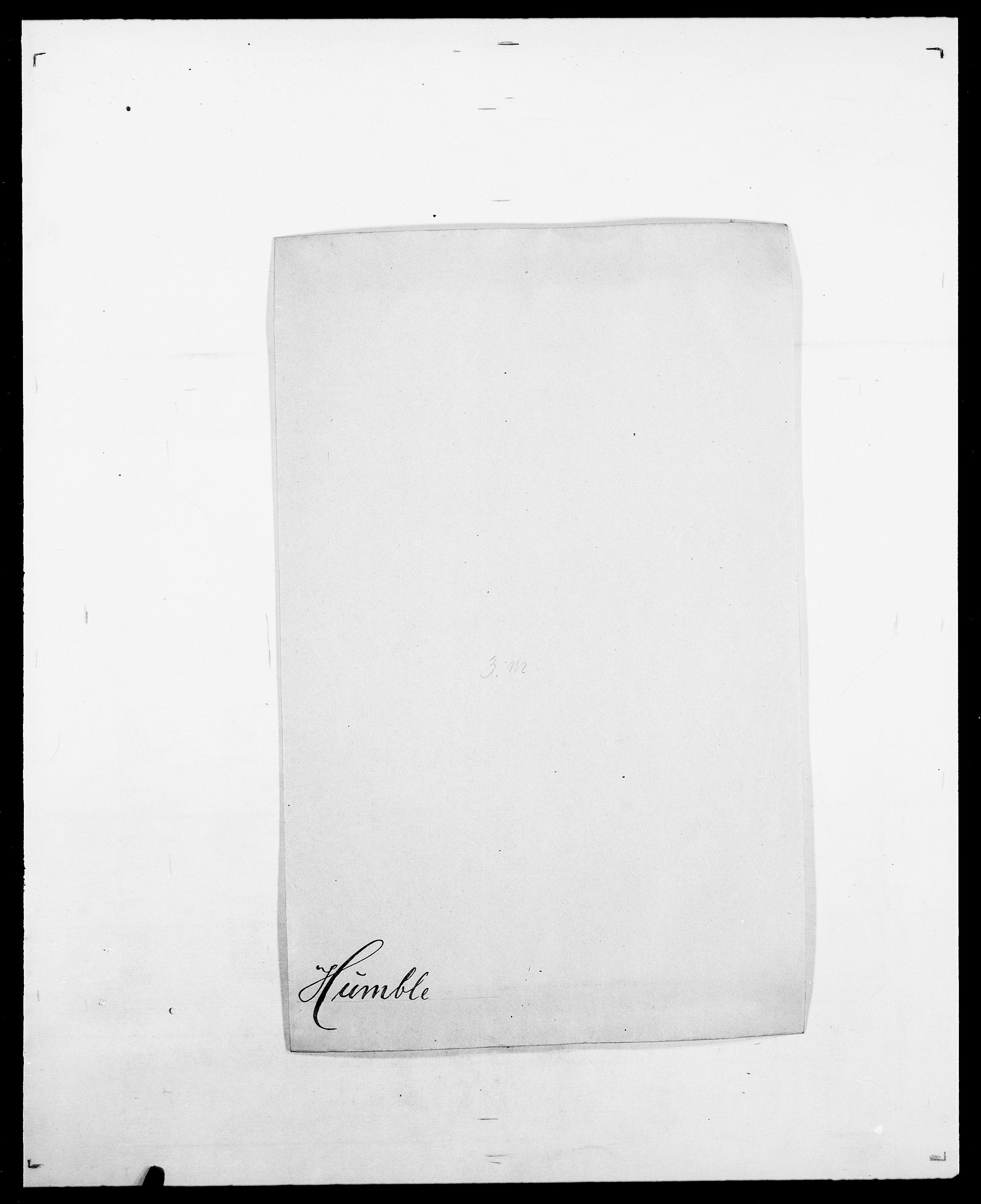 SAO, Delgobe, Charles Antoine - samling, D/Da/L0019: van der Hude - Joys, s. 48
