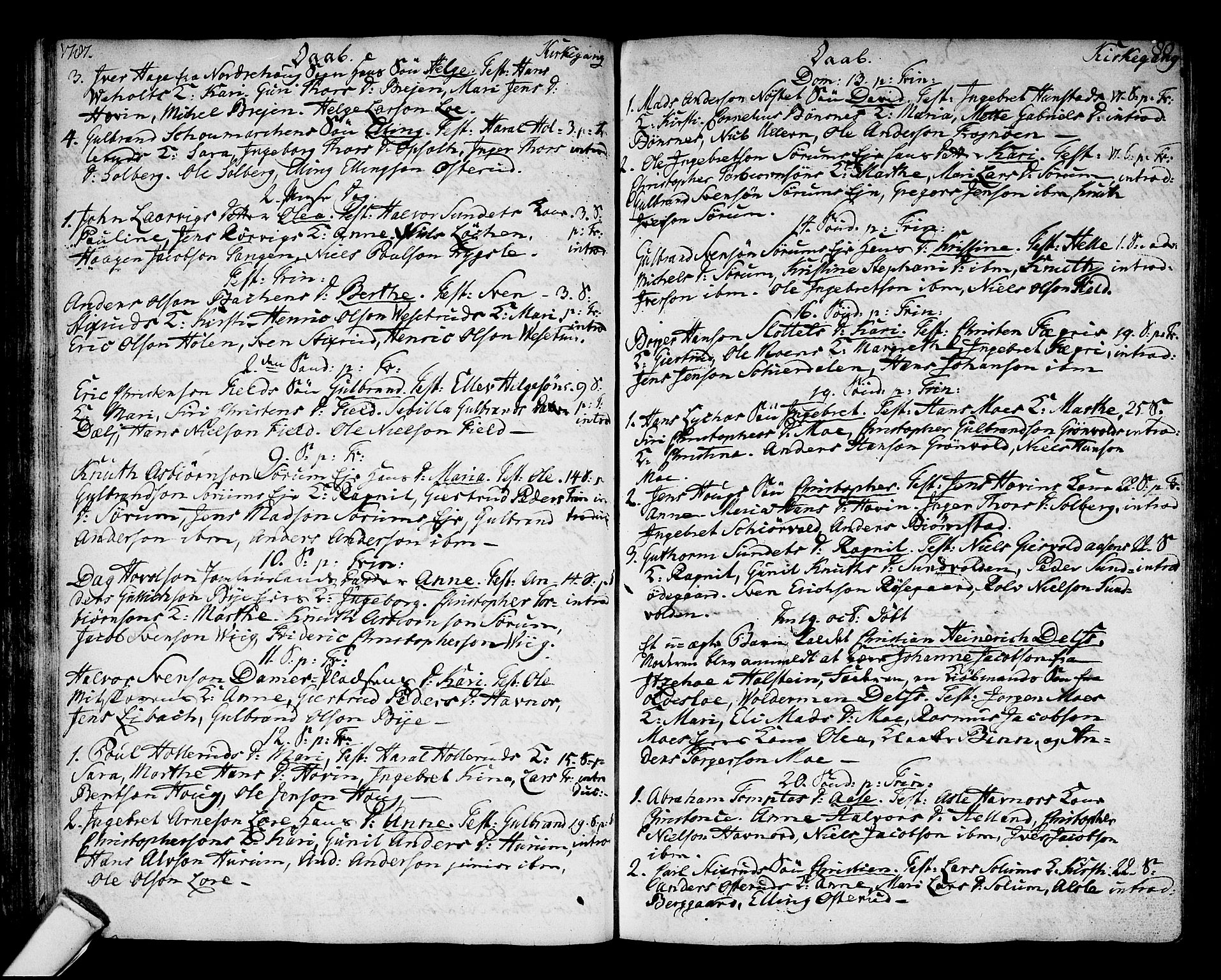 SAKO, Hole kirkebøker, F/Fa/L0002: Ministerialbok nr. I 2, 1766-1814, s. 80