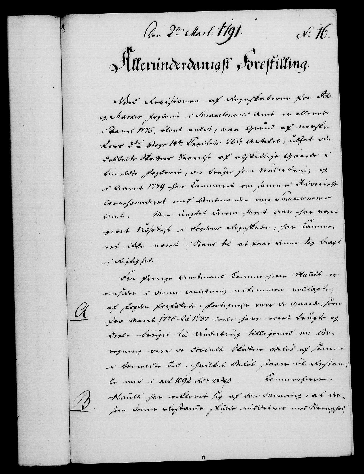 RA, Rentekammeret, Kammerkanselliet, G/Gf/Gfa/L0073: Norsk relasjons- og resolusjonsprotokoll (merket RK 52.73), 1791, s. 97