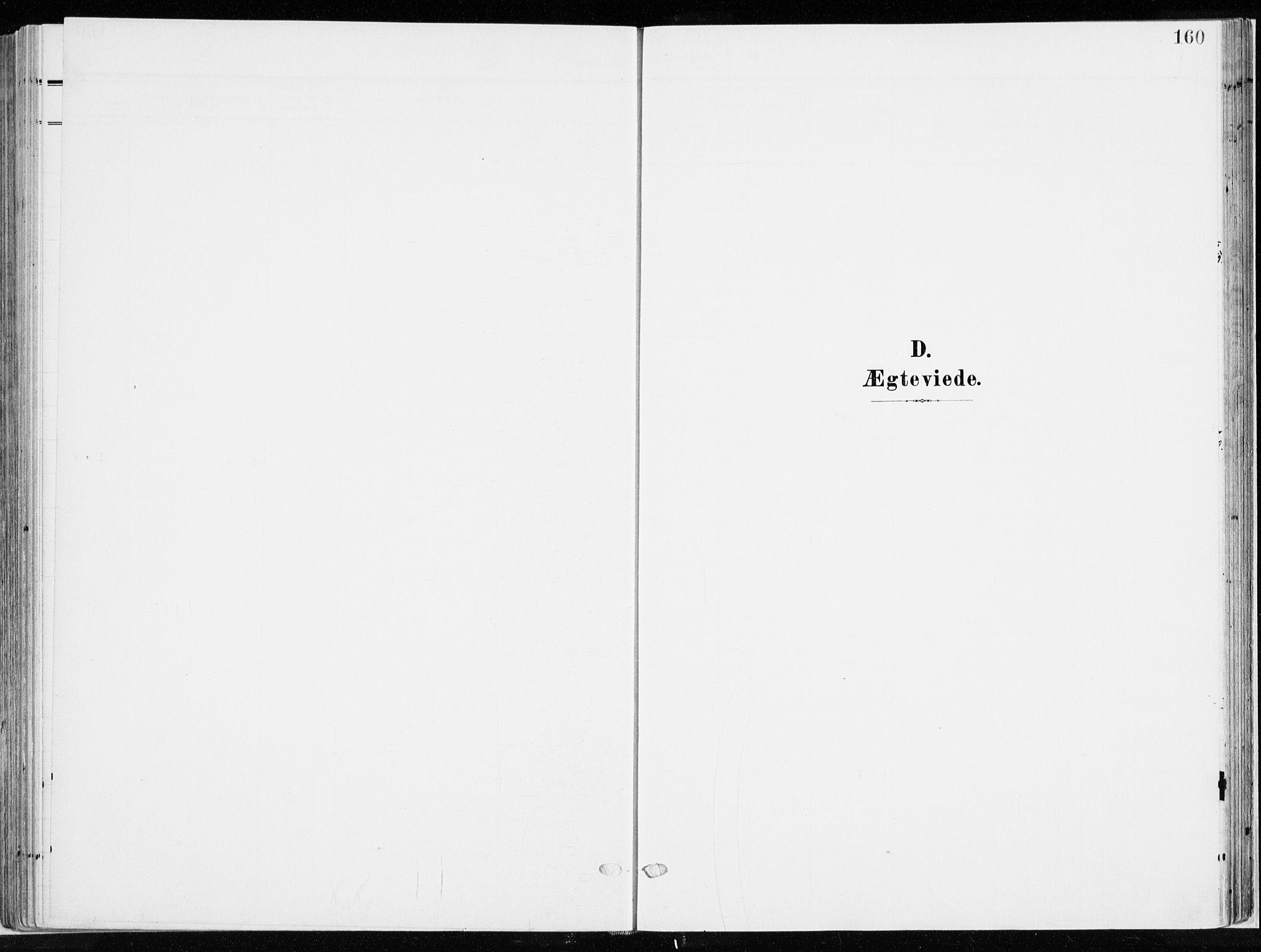 SAH, Ringsaker prestekontor, K/Ka/L0019: Ministerialbok nr. 19, 1905-1920, s. 160