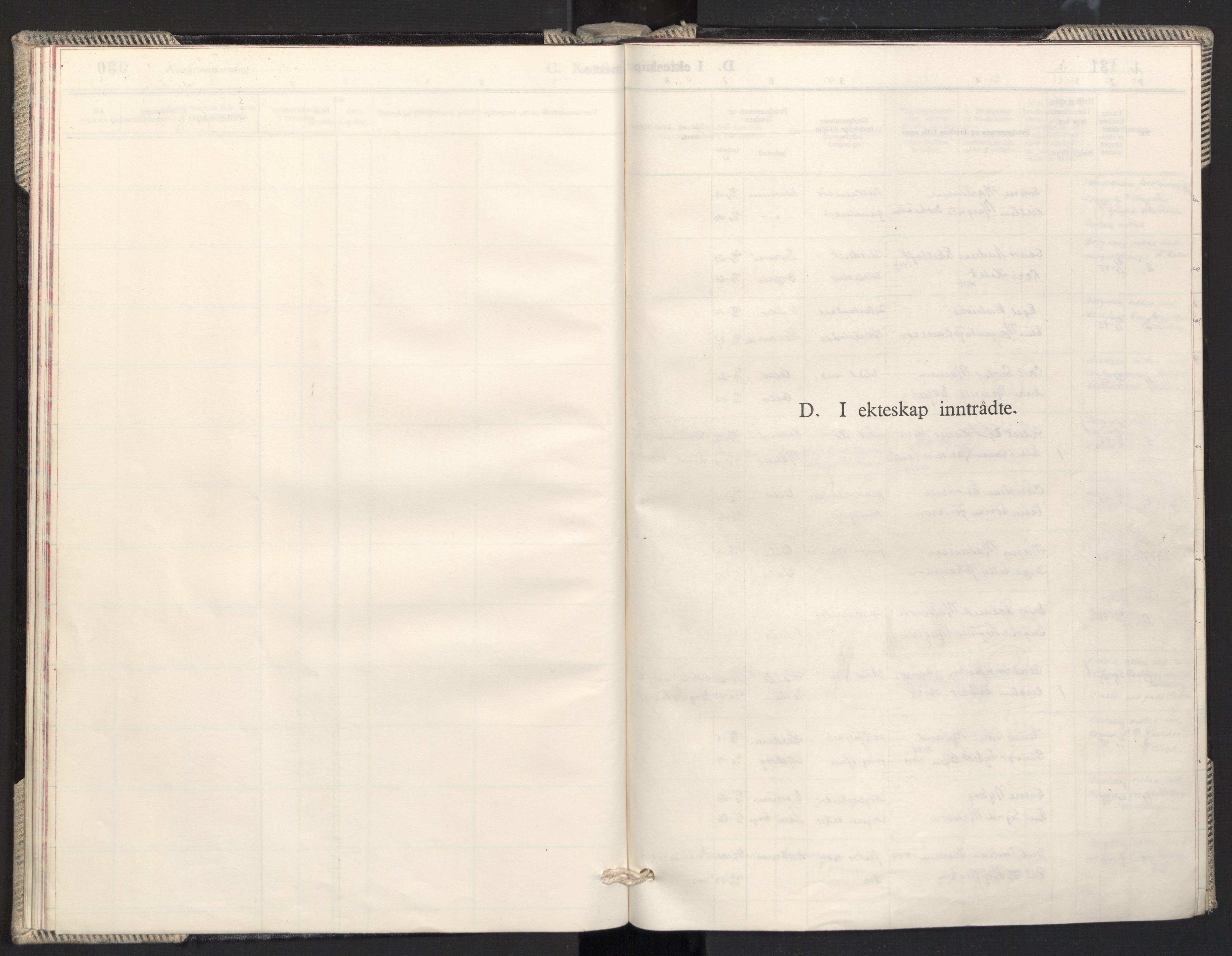 SAO, Prestekontoret i Sverige under okkupasjonen Kirkebøker, F/L0003: Ministerialbok nr. 3, 1944-1945