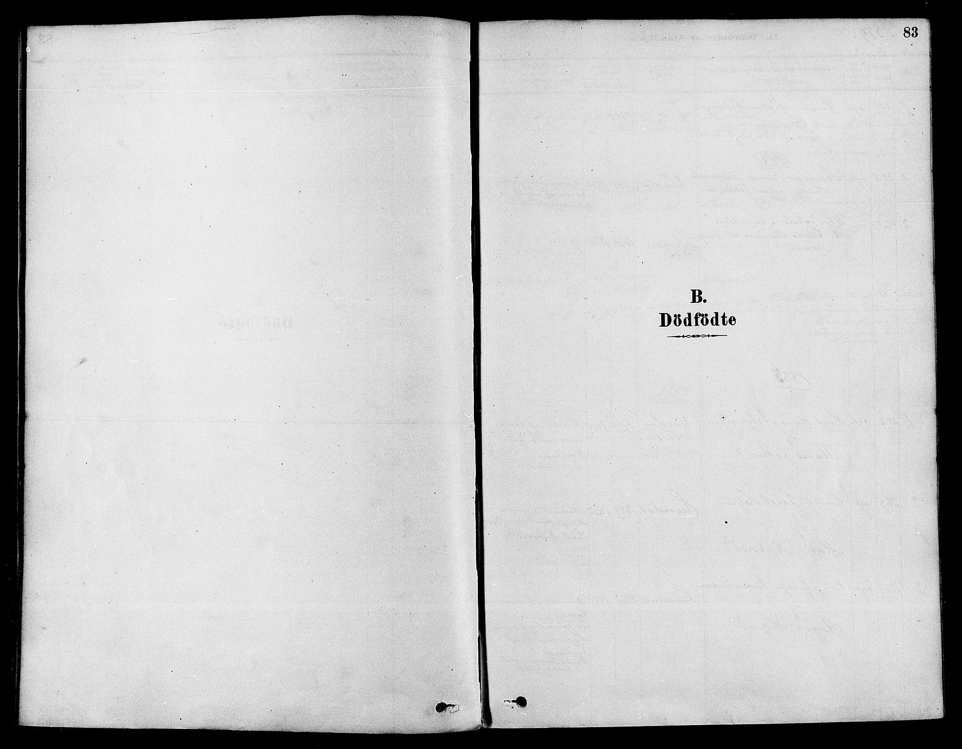 SAKO, Sigdal kirkebøker, F/Fa/L0011: Ministerialbok nr. I 11, 1879-1887, s. 83
