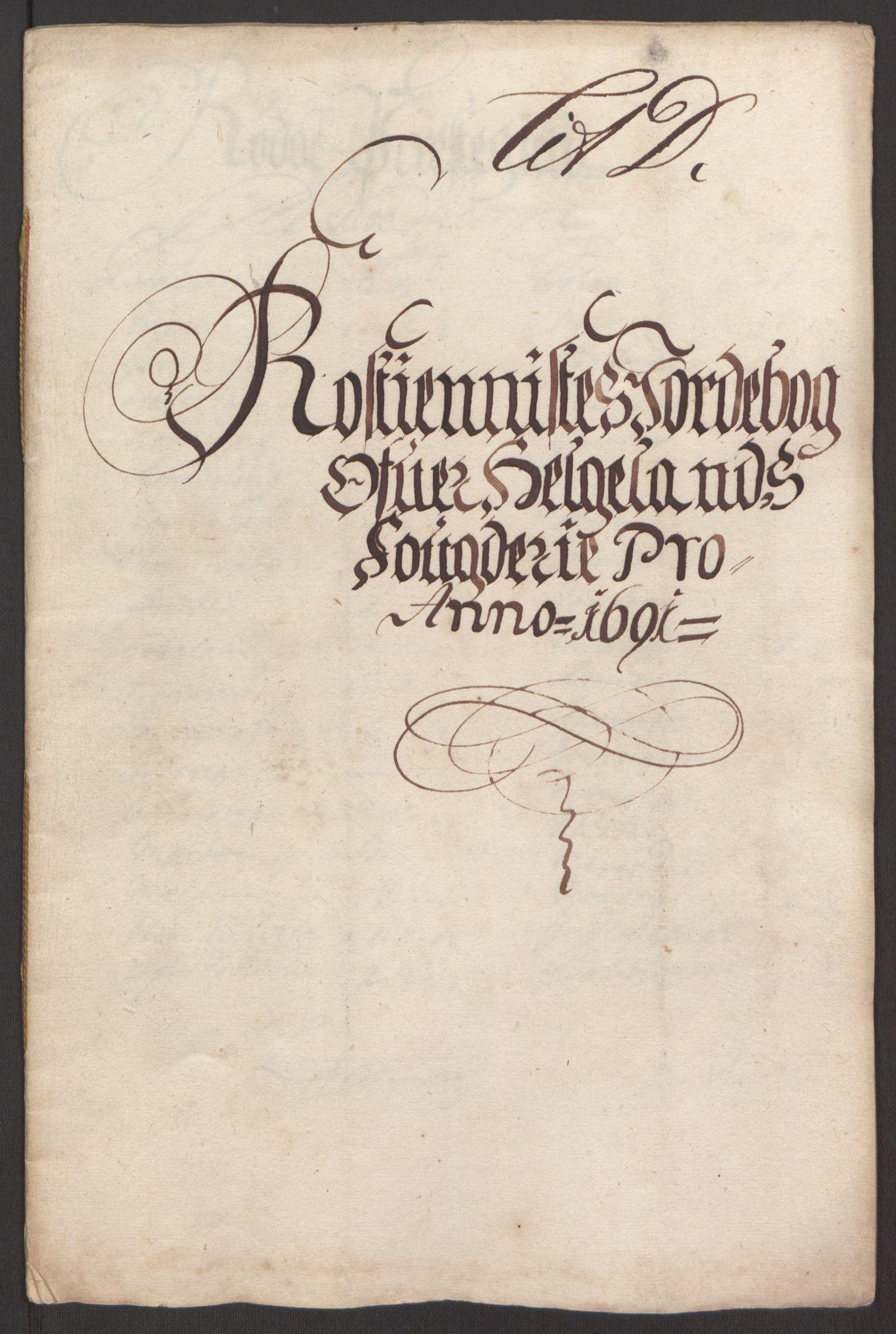 RA, Rentekammeret inntil 1814, Reviderte regnskaper, Fogderegnskap, R65/L4504: Fogderegnskap Helgeland, 1691-1692, s. 96