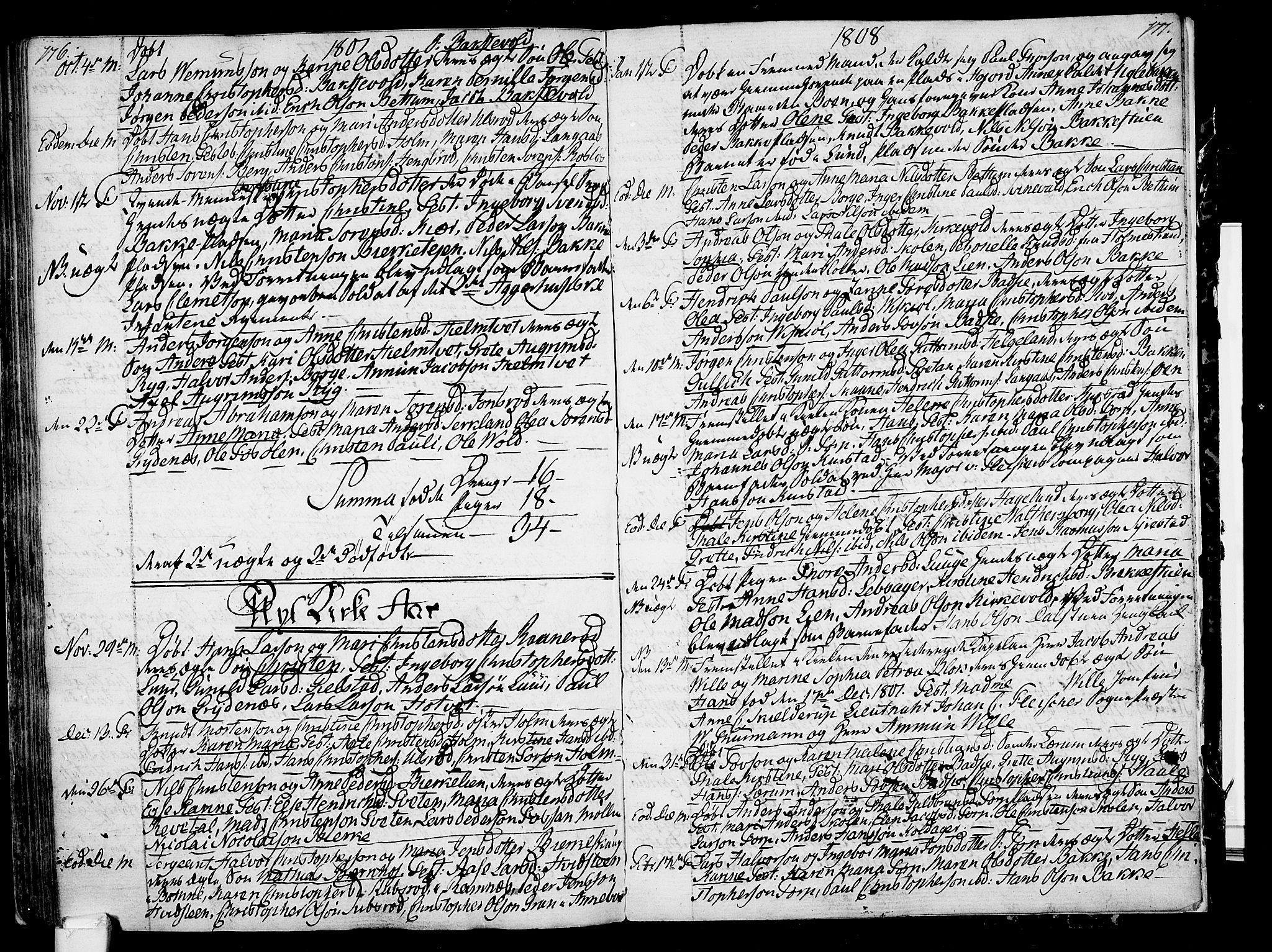 SAKO, Våle kirkebøker, F/Fa/L0005: Ministerialbok nr. I 5, 1773-1808, s. 176-177