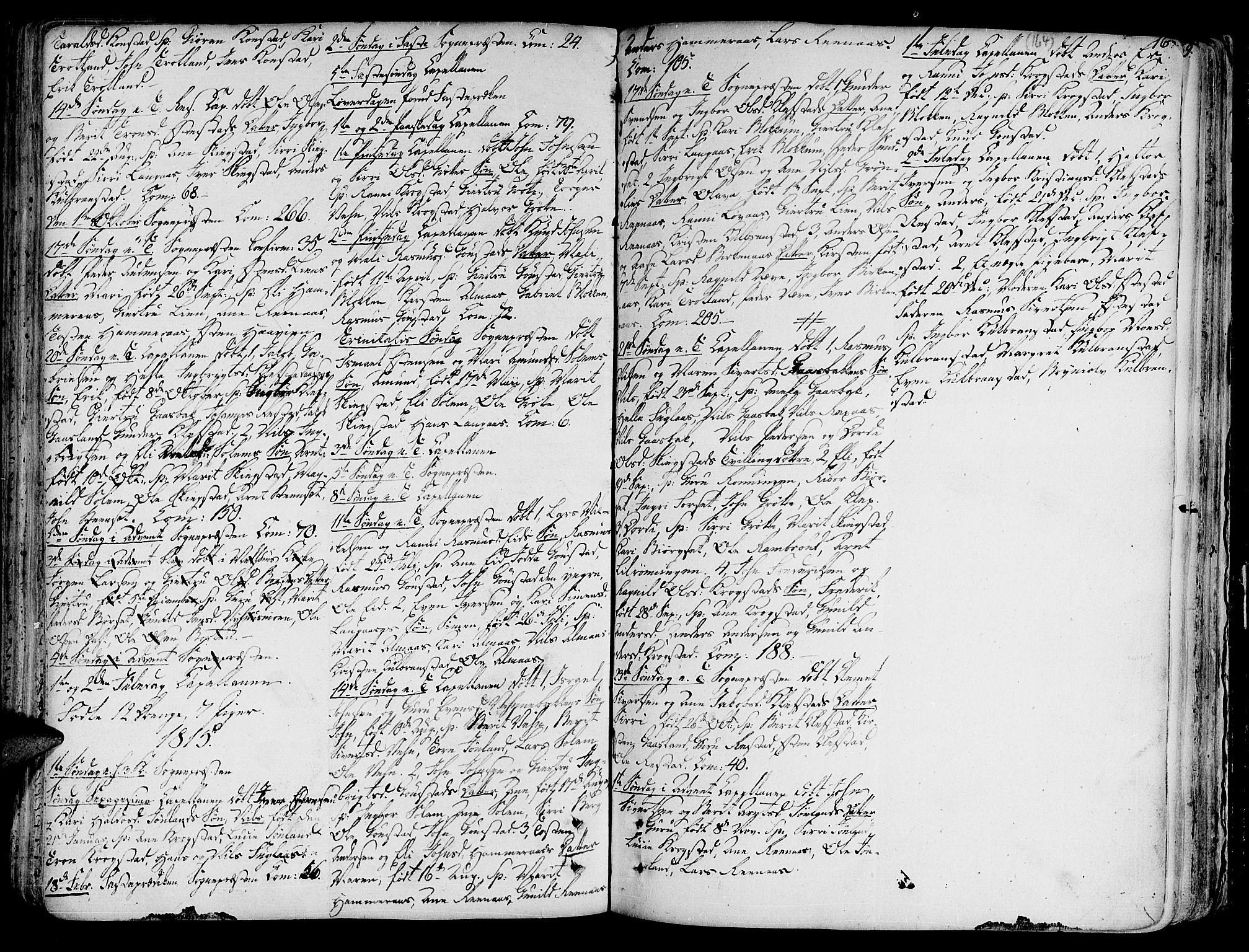 SAT, Ministerialprotokoller, klokkerbøker og fødselsregistre - Sør-Trøndelag, 691/L1064: Ministerialbok nr. 691A02 /4, 1768-1815, s. 164