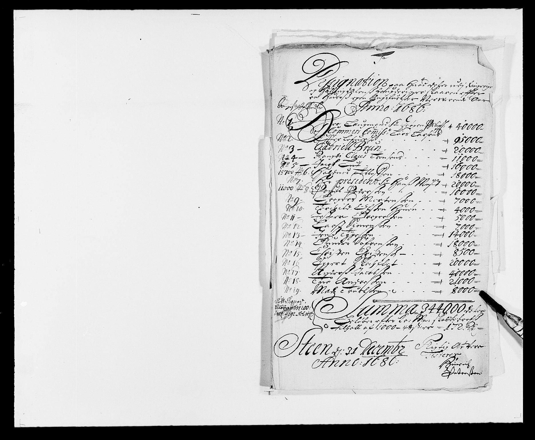 RA, Rentekammeret inntil 1814, Reviderte regnskaper, Fogderegnskap, R21/L1446: Fogderegnskap Ringerike og Hallingdal, 1683-1686, s. 472