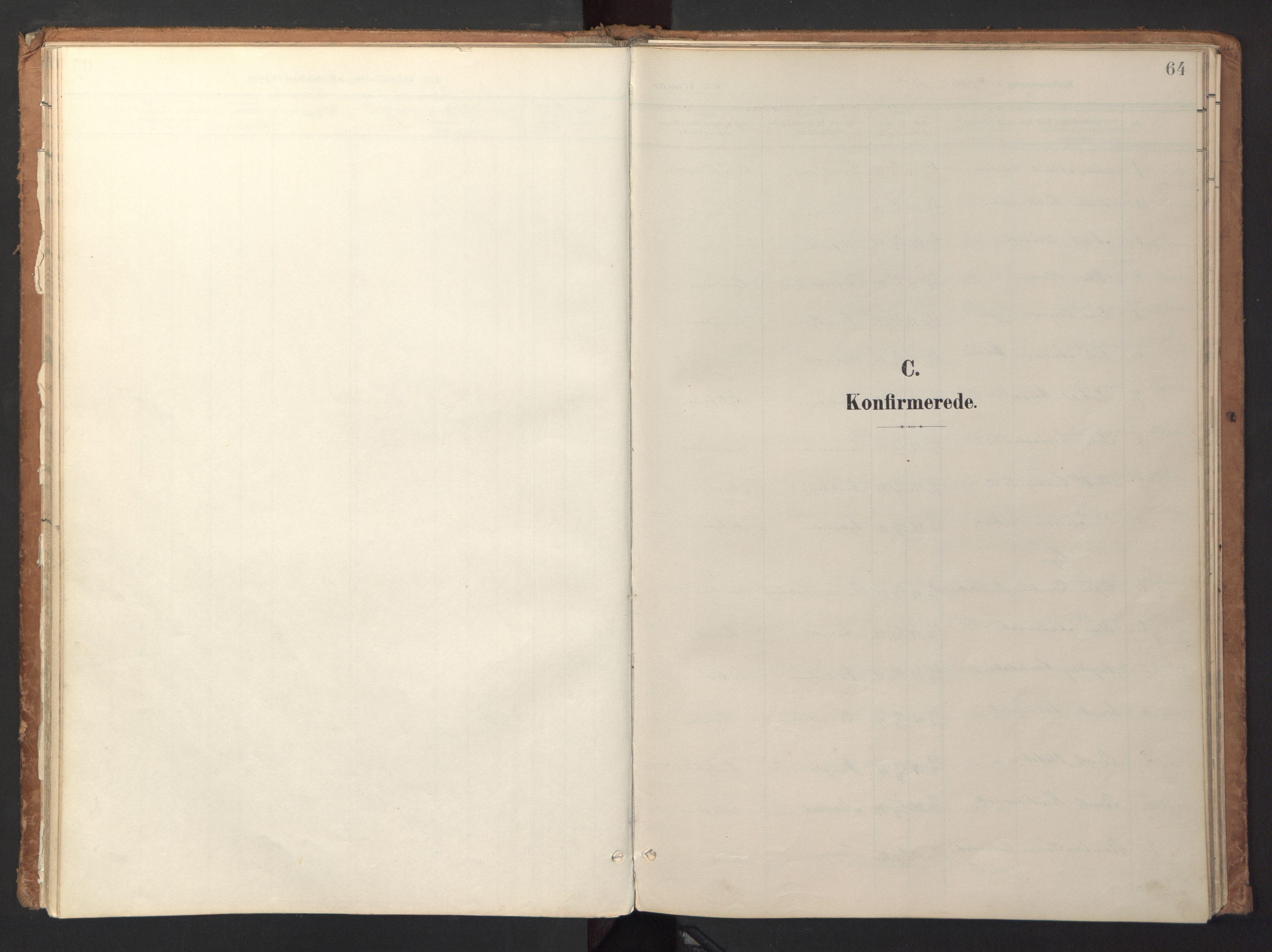 SAT, Ministerialprotokoller, klokkerbøker og fødselsregistre - Sør-Trøndelag, 618/L0448: Ministerialbok nr. 618A11, 1898-1916, s. 64