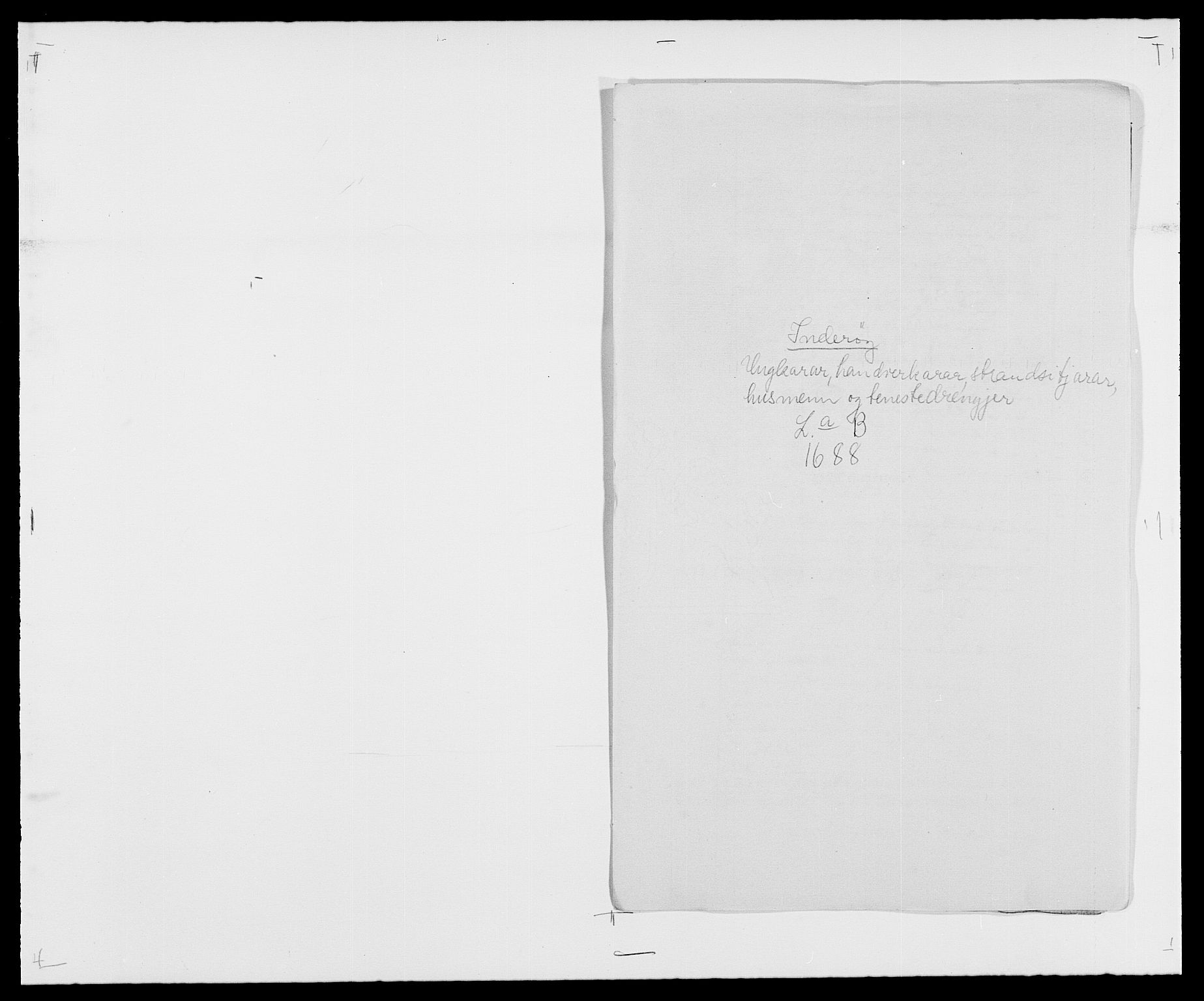 RA, Rentekammeret inntil 1814, Reviderte regnskaper, Fogderegnskap, R63/L4306: Fogderegnskap Inderøy, 1687-1689, s. 245