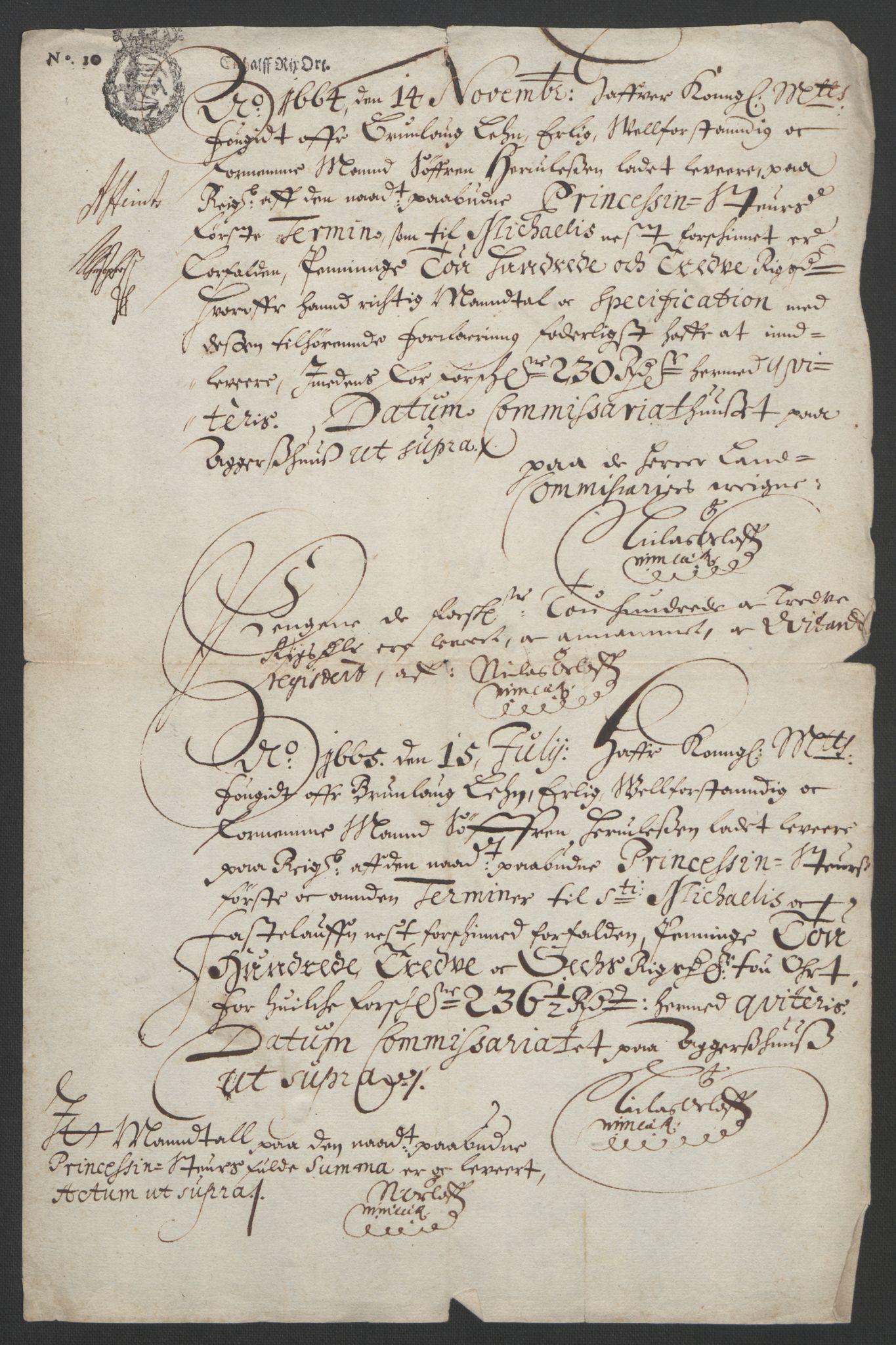 RA, Rentekammeret inntil 1814, Reviderte regnskaper, Fogderegnskap, R33/L1964: Fogderegnskap Larvik grevskap, 1665-1668, s. 40