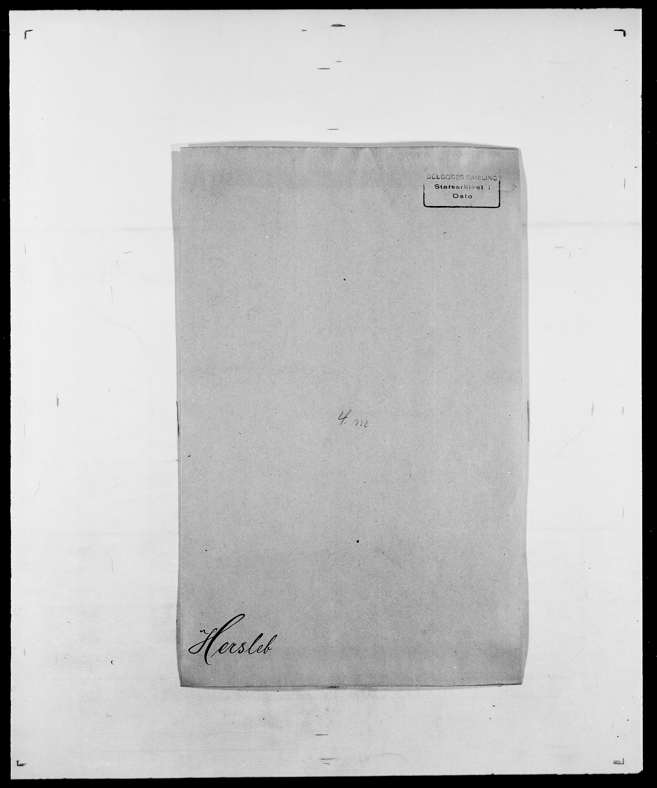 SAO, Delgobe, Charles Antoine - samling, D/Da/L0017: Helander - Hjørne, s. 268