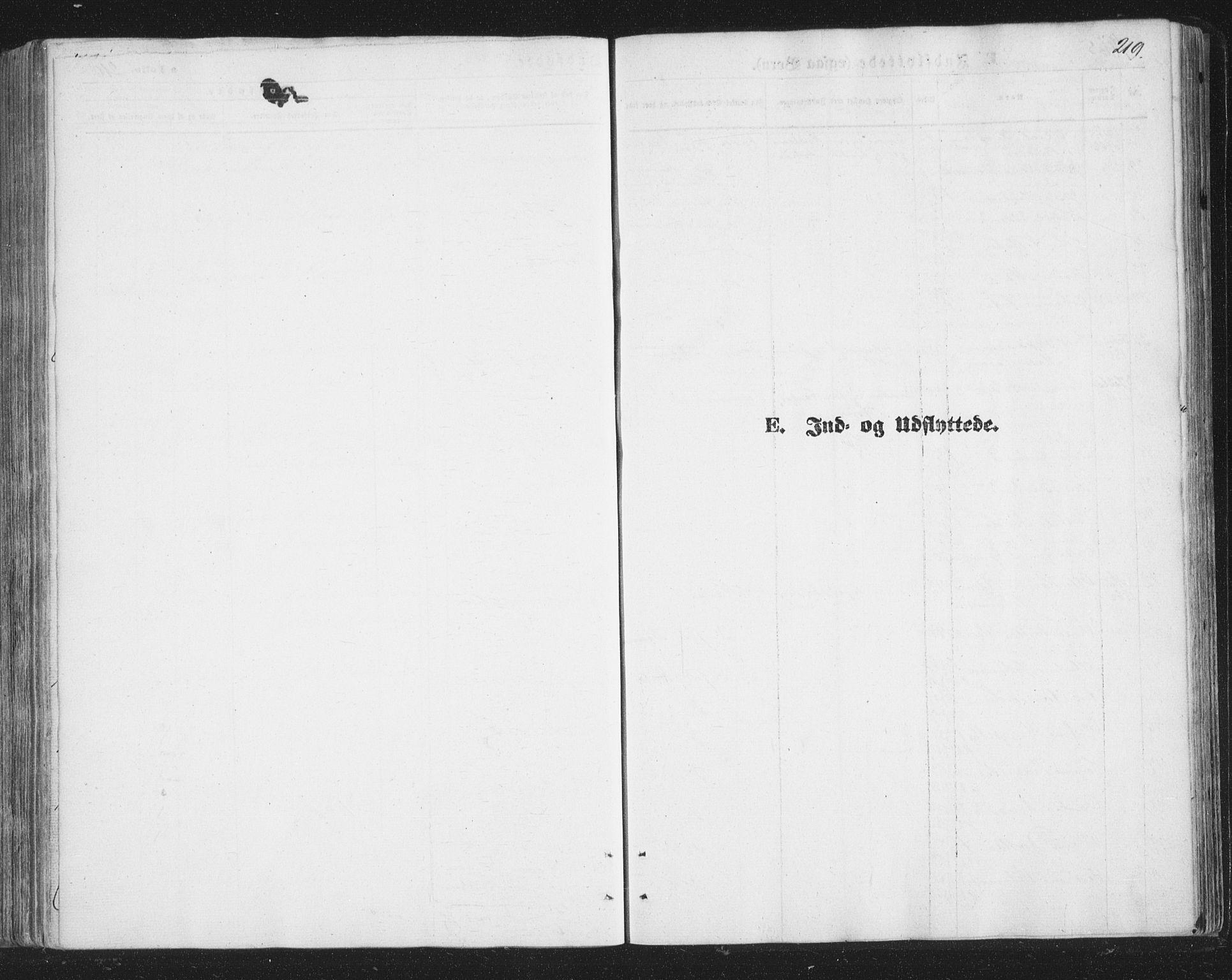 SATØ, Tromsø sokneprestkontor/stiftsprosti/domprosti, G/Ga/L0012kirke: Ministerialbok nr. 12, 1865-1871, s. 219