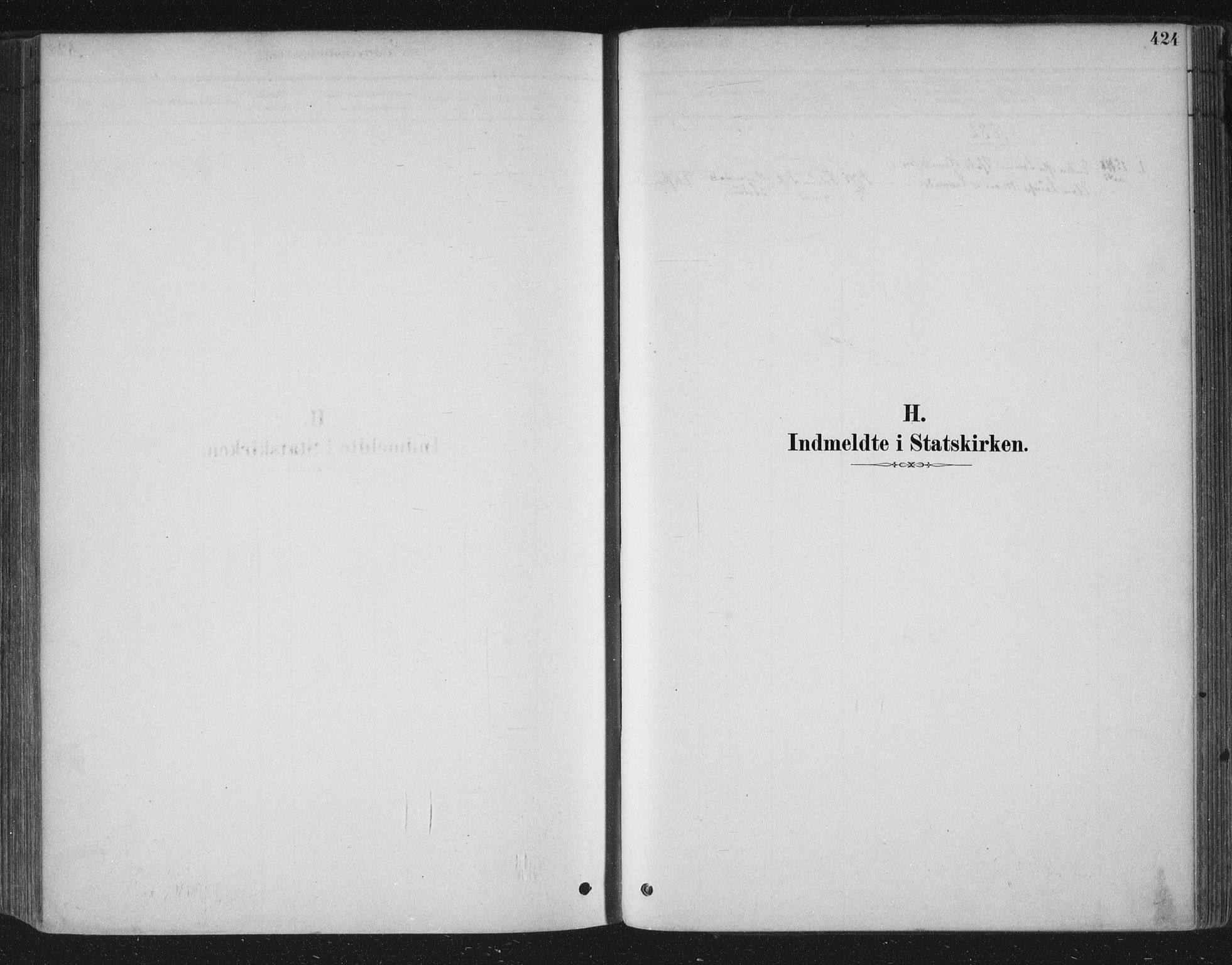 SAKO, Bamble kirkebøker, F/Fa/L0007: Ministerialbok nr. I 7, 1878-1888, s. 424
