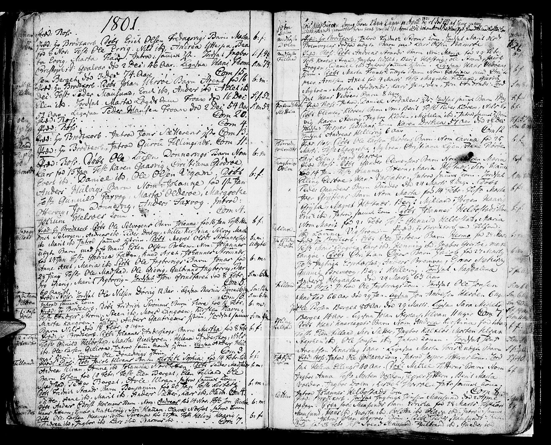 SAT, Ministerialprotokoller, klokkerbøker og fødselsregistre - Sør-Trøndelag, 634/L0526: Ministerialbok nr. 634A02, 1775-1818, s. 126