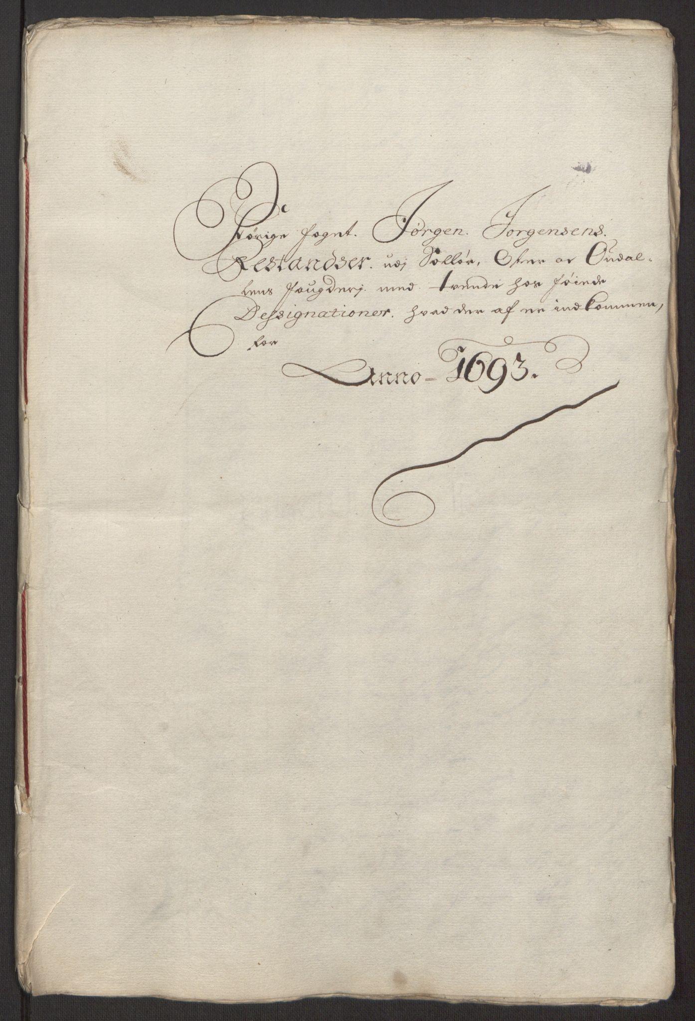 RA, Rentekammeret inntil 1814, Reviderte regnskaper, Fogderegnskap, R13/L0833: Fogderegnskap Solør, Odal og Østerdal, 1695, s. 43