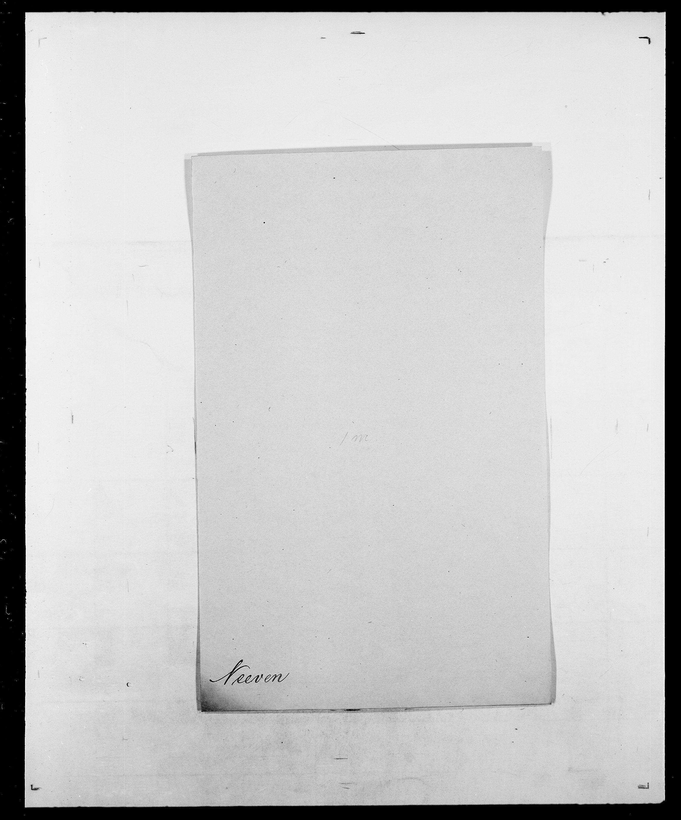 SAO, Delgobe, Charles Antoine - samling, D/Da/L0028: Naaden - Nøvik, s. 94