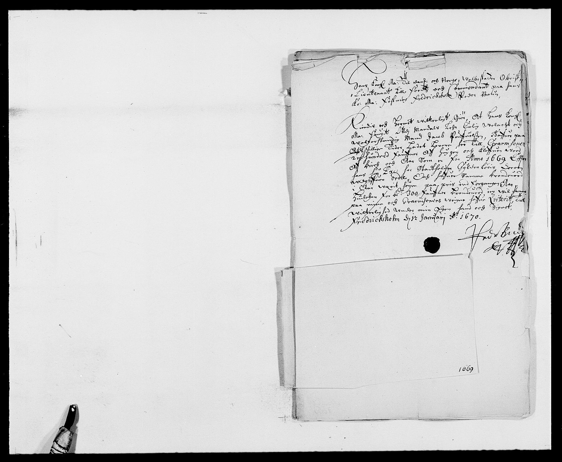 RA, Rentekammeret inntil 1814, Reviderte regnskaper, Fogderegnskap, R42/L2538: Mandal fogderi, 1667-1670, s. 210