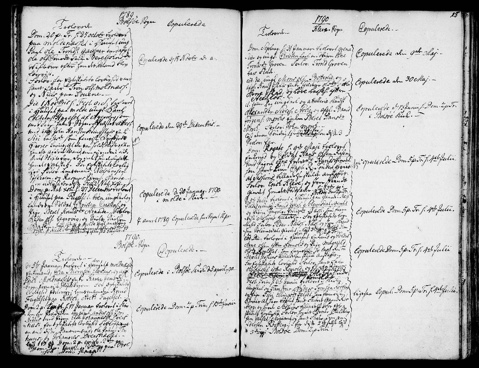 SAT, Ministerialprotokoller, klokkerbøker og fødselsregistre - Møre og Romsdal, 555/L0648: Ministerialbok nr. 555A01, 1759-1793, s. 18