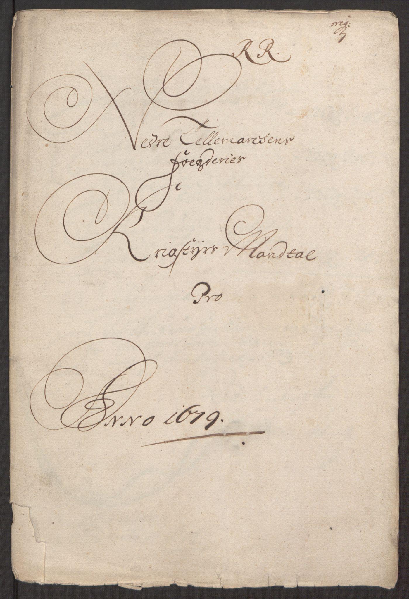 RA, Rentekammeret inntil 1814, Reviderte regnskaper, Fogderegnskap, R35/L2072: Fogderegnskap Øvre og Nedre Telemark, 1679, s. 218