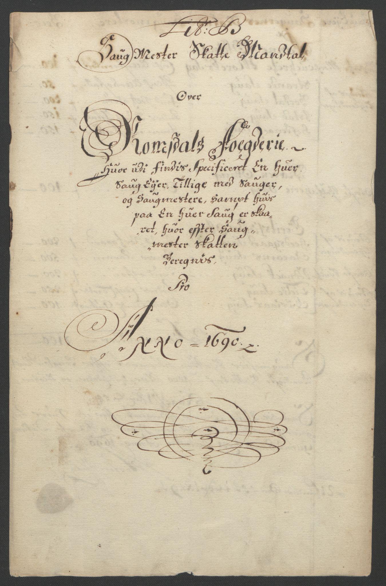 RA, Rentekammeret inntil 1814, Reviderte regnskaper, Fogderegnskap, R55/L3649: Fogderegnskap Romsdal, 1690-1691, s. 59