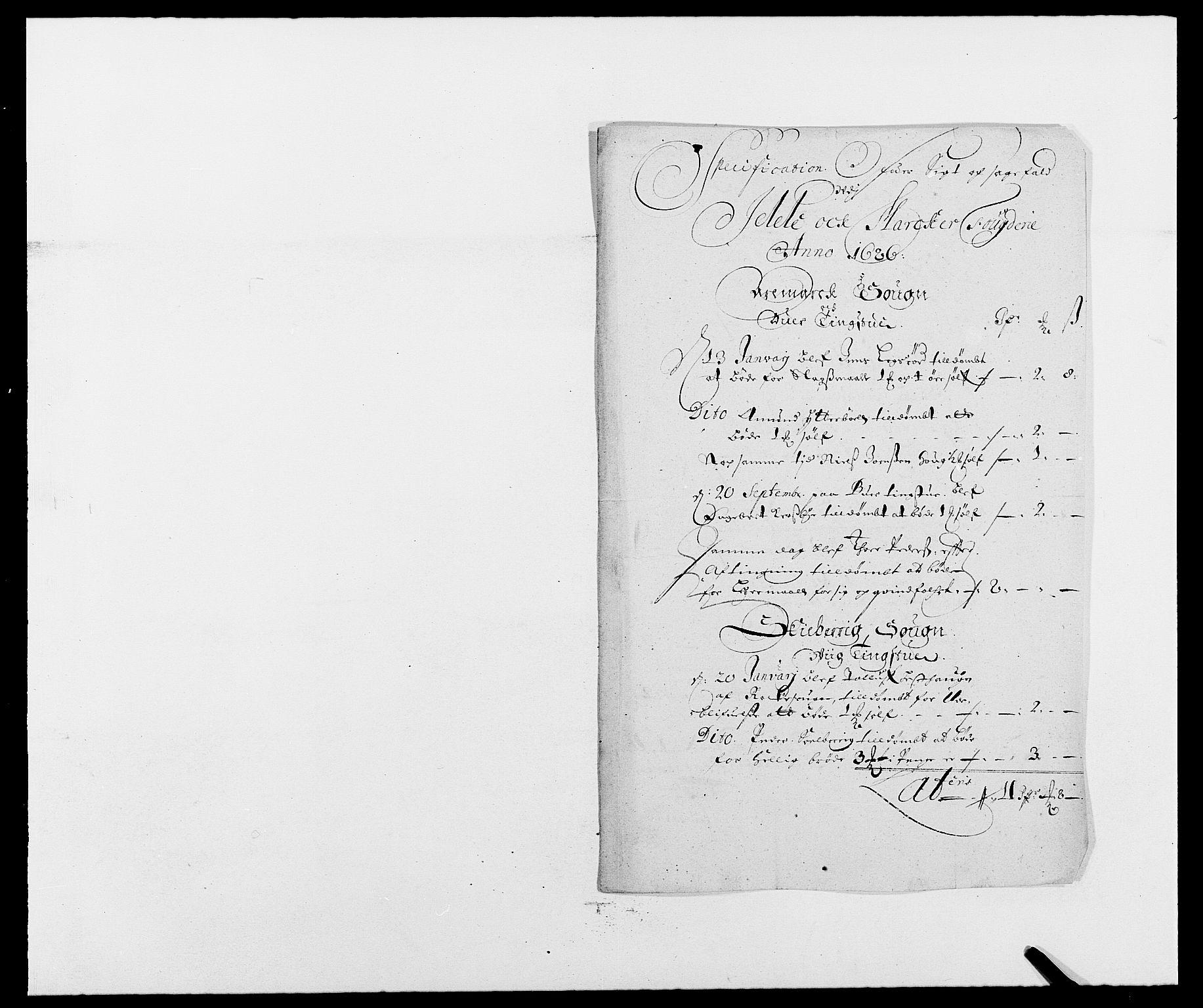 RA, Rentekammeret inntil 1814, Reviderte regnskaper, Fogderegnskap, R01/L0006: Fogderegnskap Idd og Marker, 1685-1686, s. 278