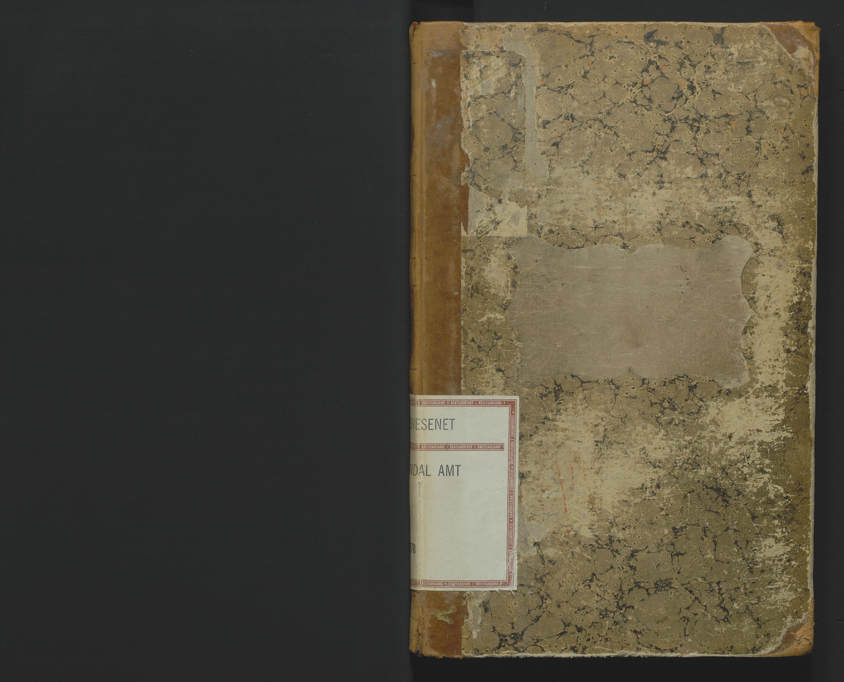 SAK, Utskiftningsformannen i Lister og Mandal amt, F/Fa/Faa/L0013: Utskiftningsprotokoll med register nr 13, 1877-1878