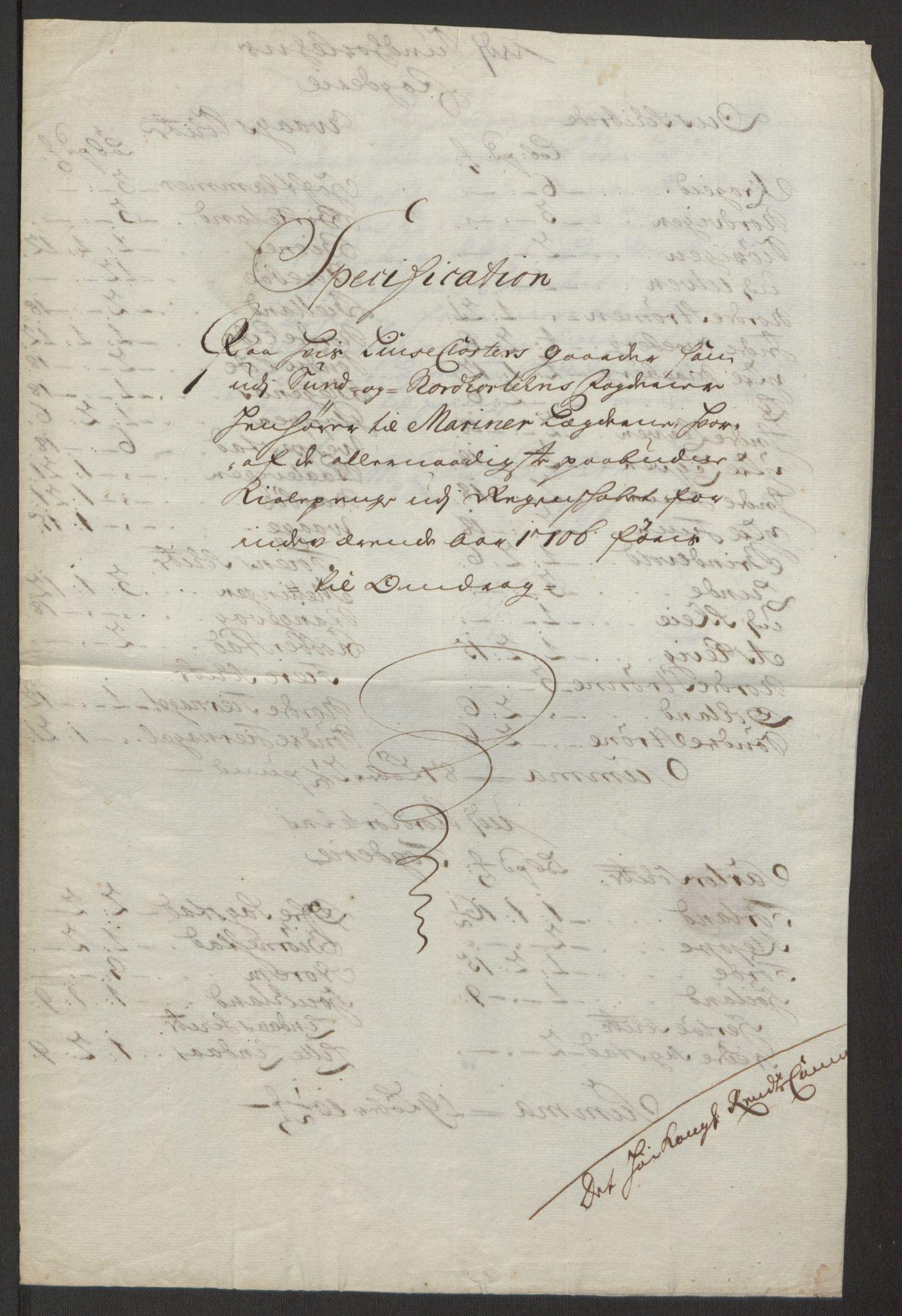 RA, Rentekammeret inntil 1814, Reviderte regnskaper, Fogderegnskap, R50/L3159: Fogderegnskap Lyse kloster, 1691-1709, s. 262