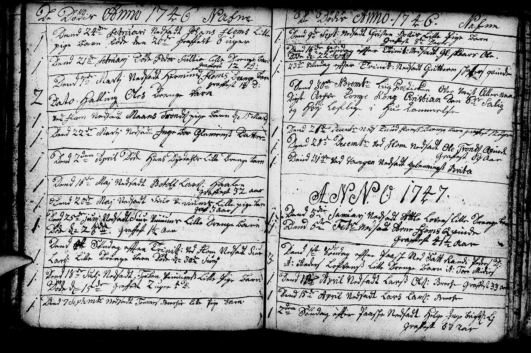 SAB, Aurland Sokneprestembete*, Ministerialbok nr. A 3, 1735-1761, s. 120