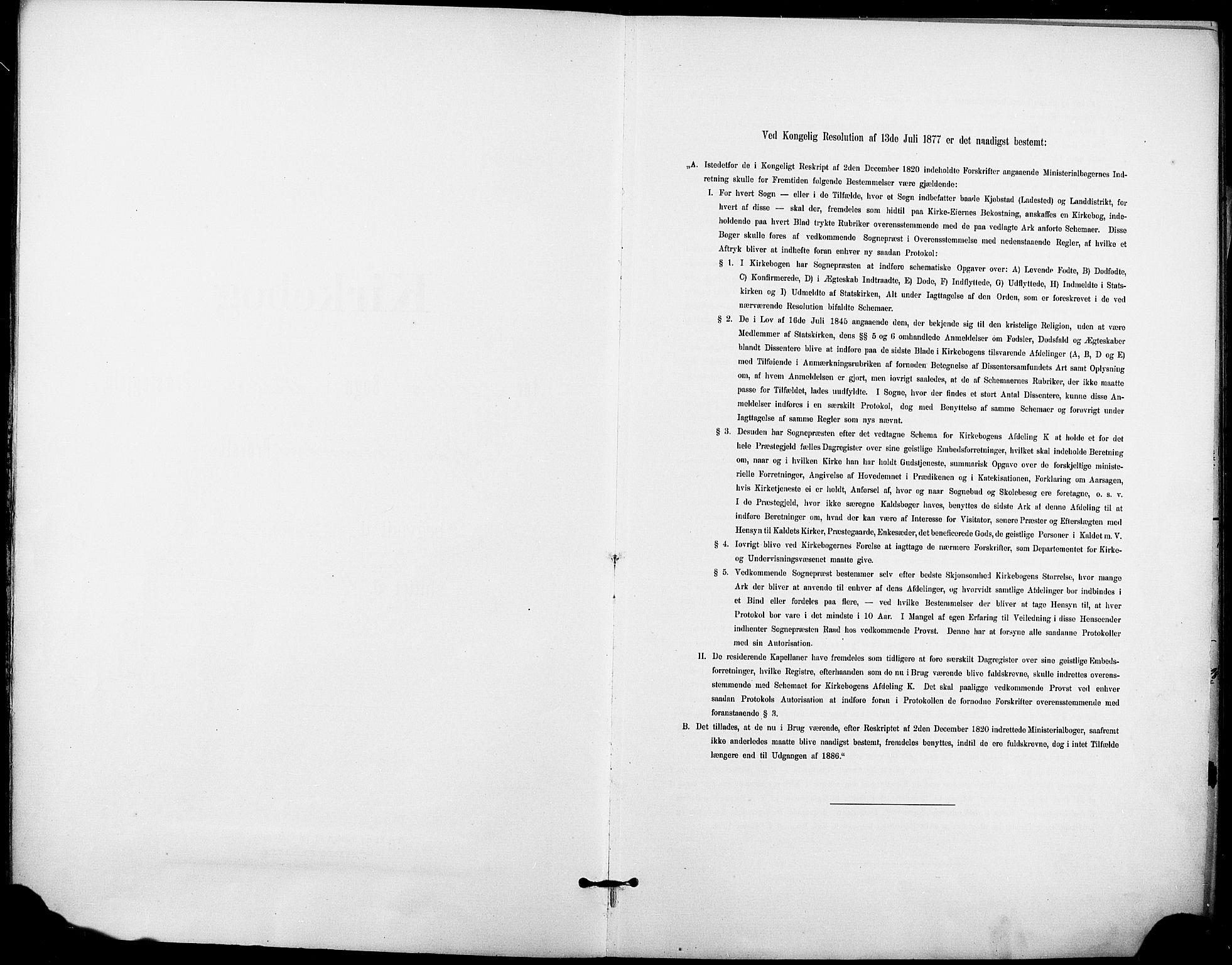 SAKO, Holla kirkebøker, F/Fa/L0010: Ministerialbok nr. 10, 1897-1907
