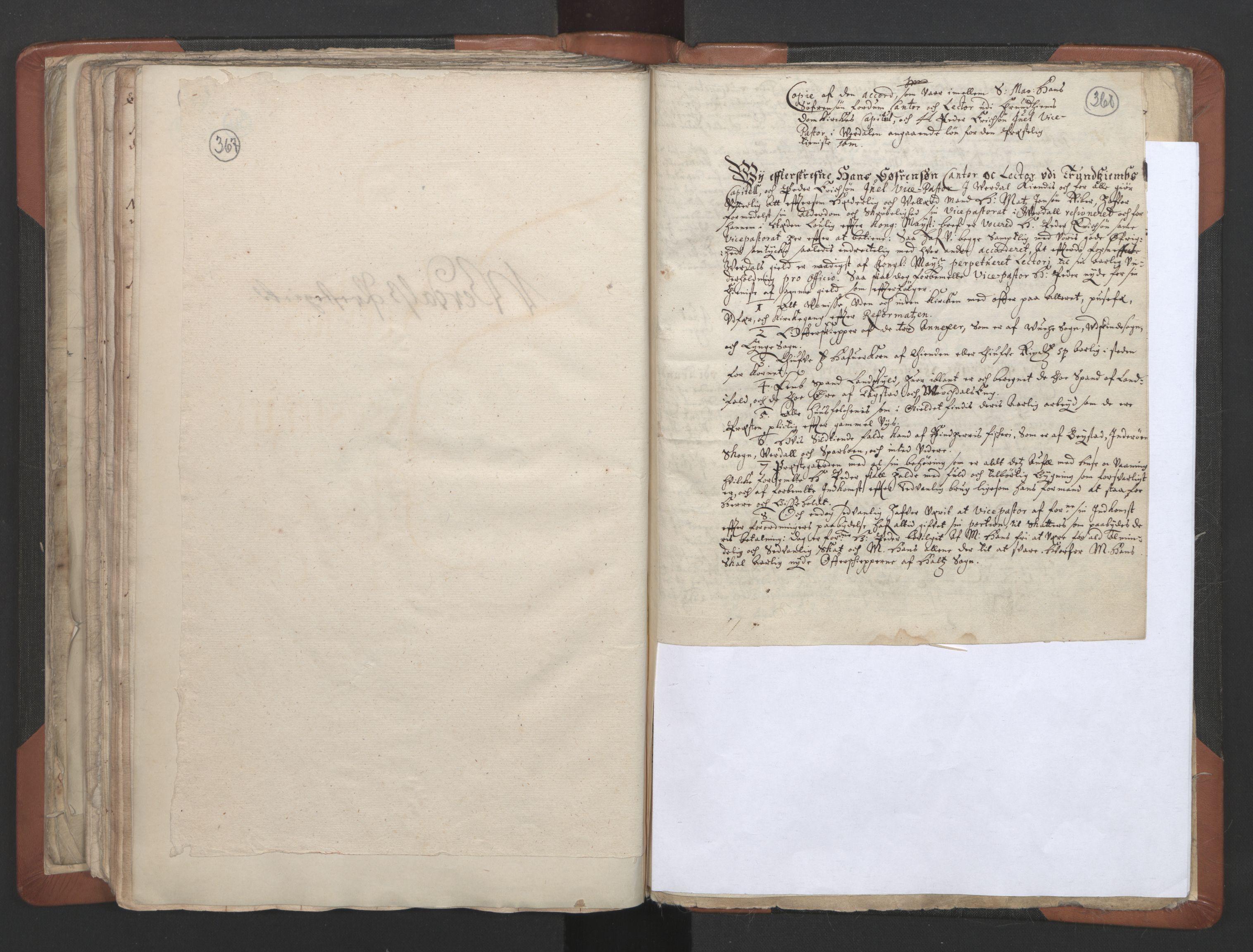 RA, Sogneprestenes manntall 1664-1666, nr. 32: Innherad prosti, 1664-1666, s. 367-368
