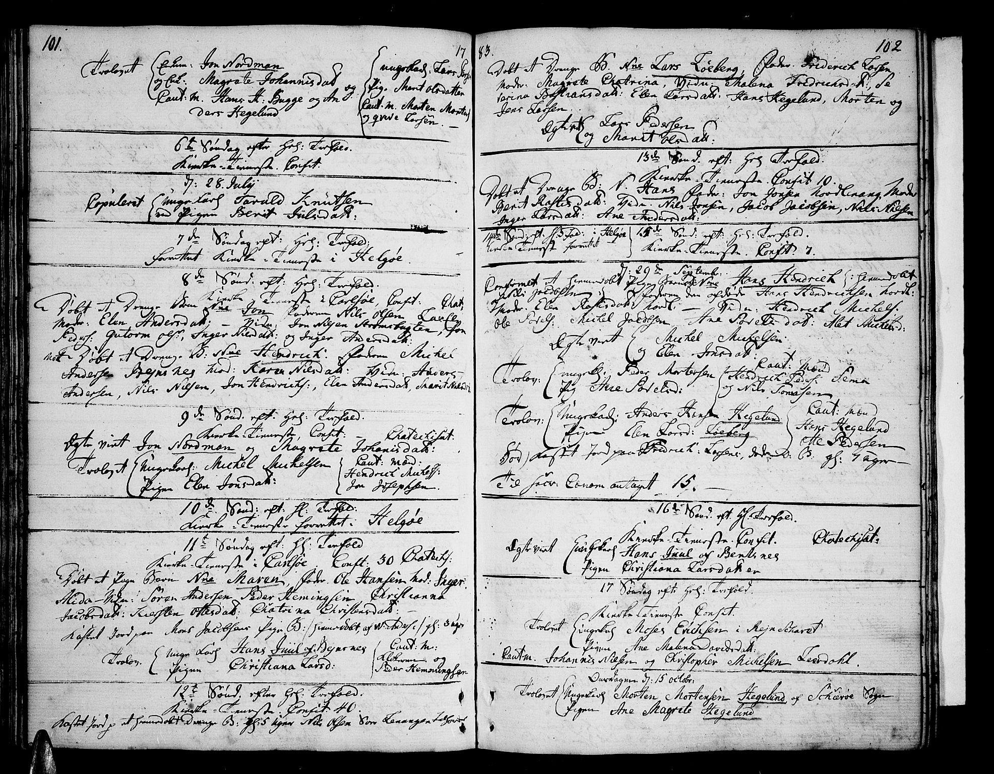 SATØ, Karlsøy sokneprestembete, Ministerialbok nr. 1, 1775-1823, s. 101-102