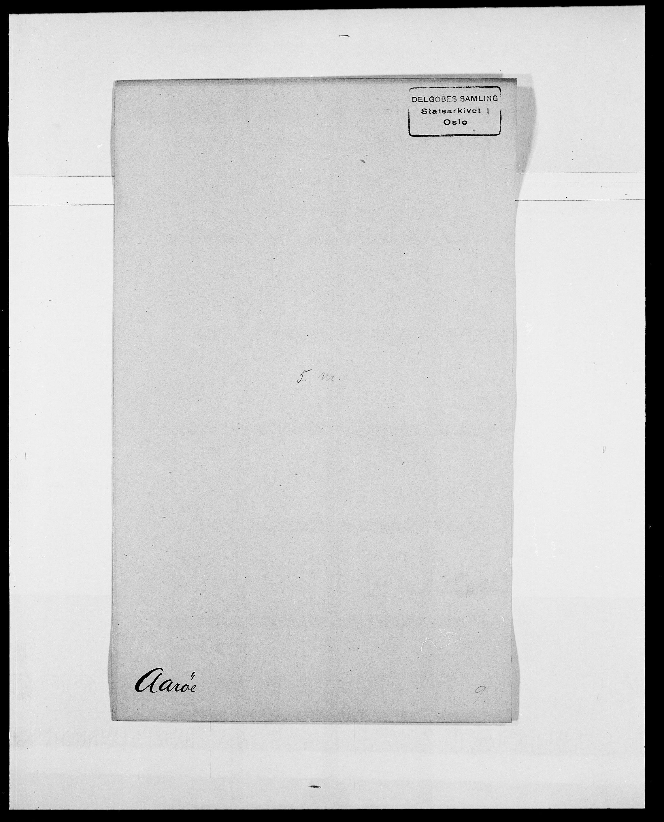 SAO, Delgobe, Charles Antoine - samling, D/Da/L0001: Aabye - Angerman, s. 122