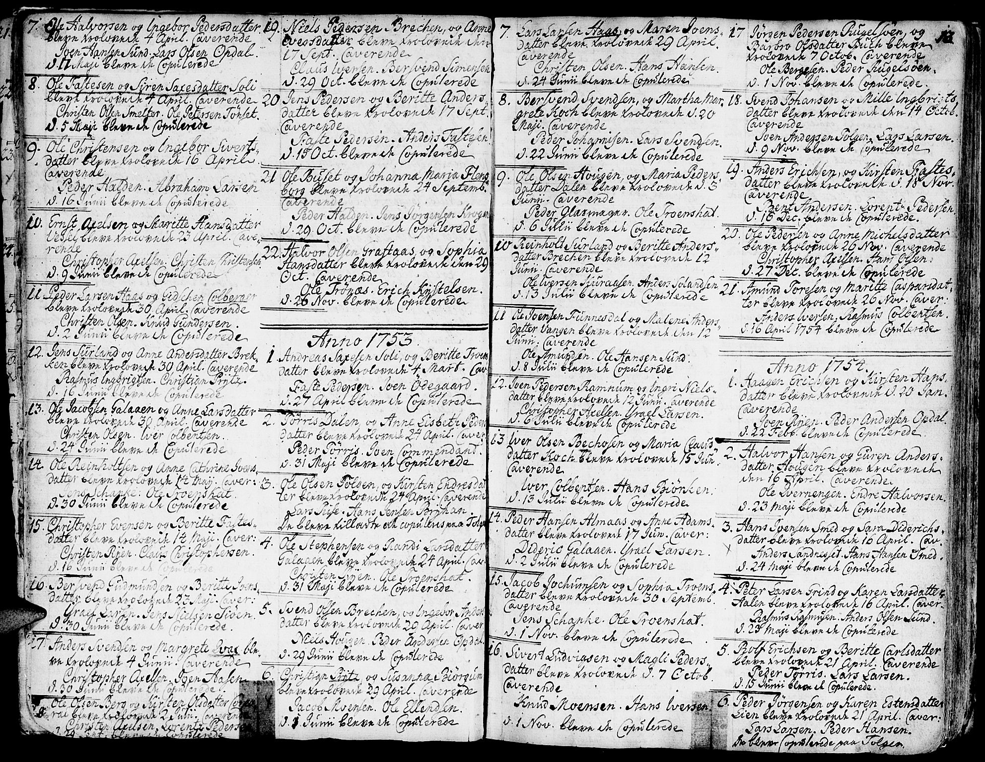 SAT, Ministerialprotokoller, klokkerbøker og fødselsregistre - Sør-Trøndelag, 681/L0925: Ministerialbok nr. 681A03, 1727-1766, s. 13