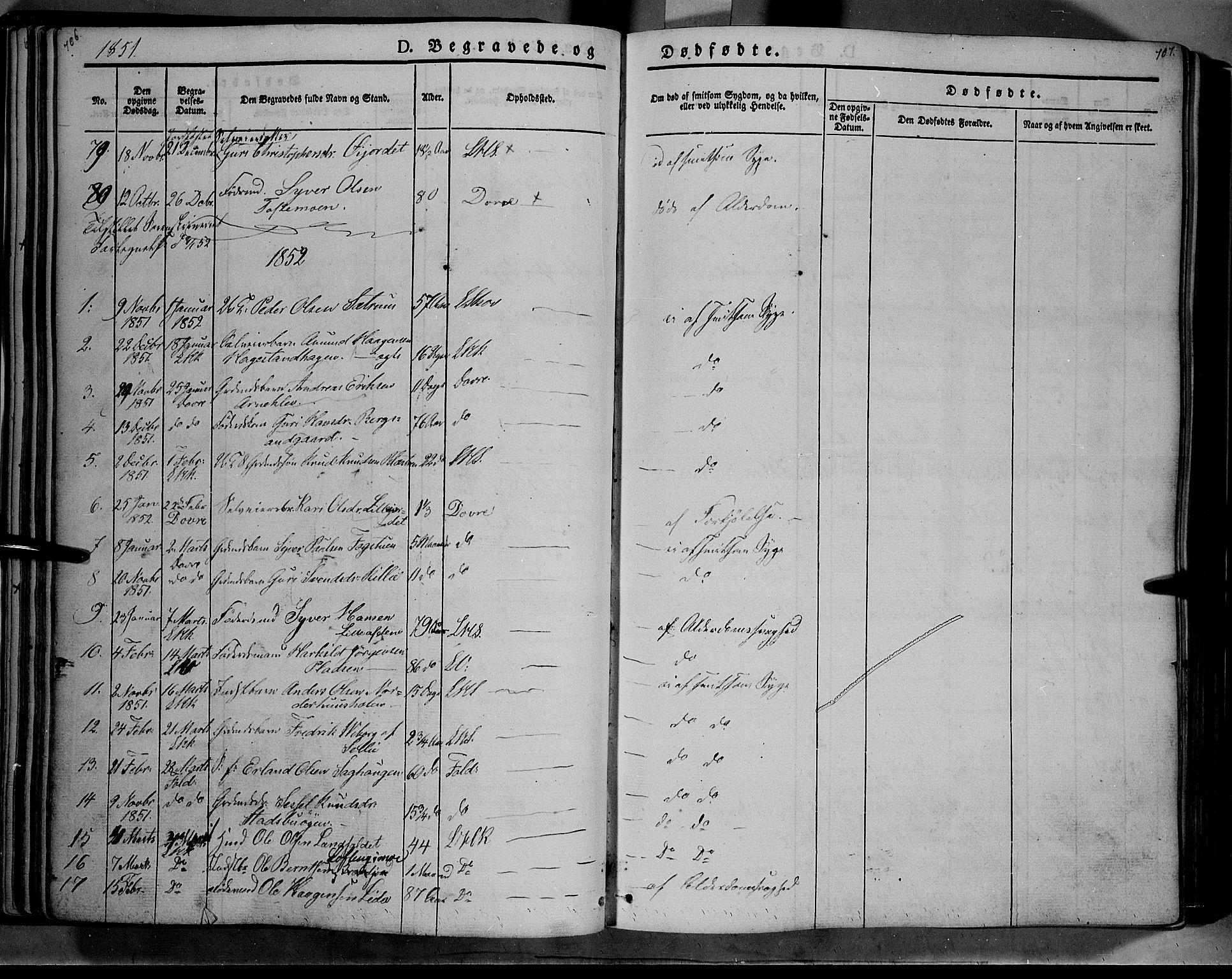 SAH, Lesja prestekontor, Ministerialbok nr. 6B, 1843-1854, s. 706-707