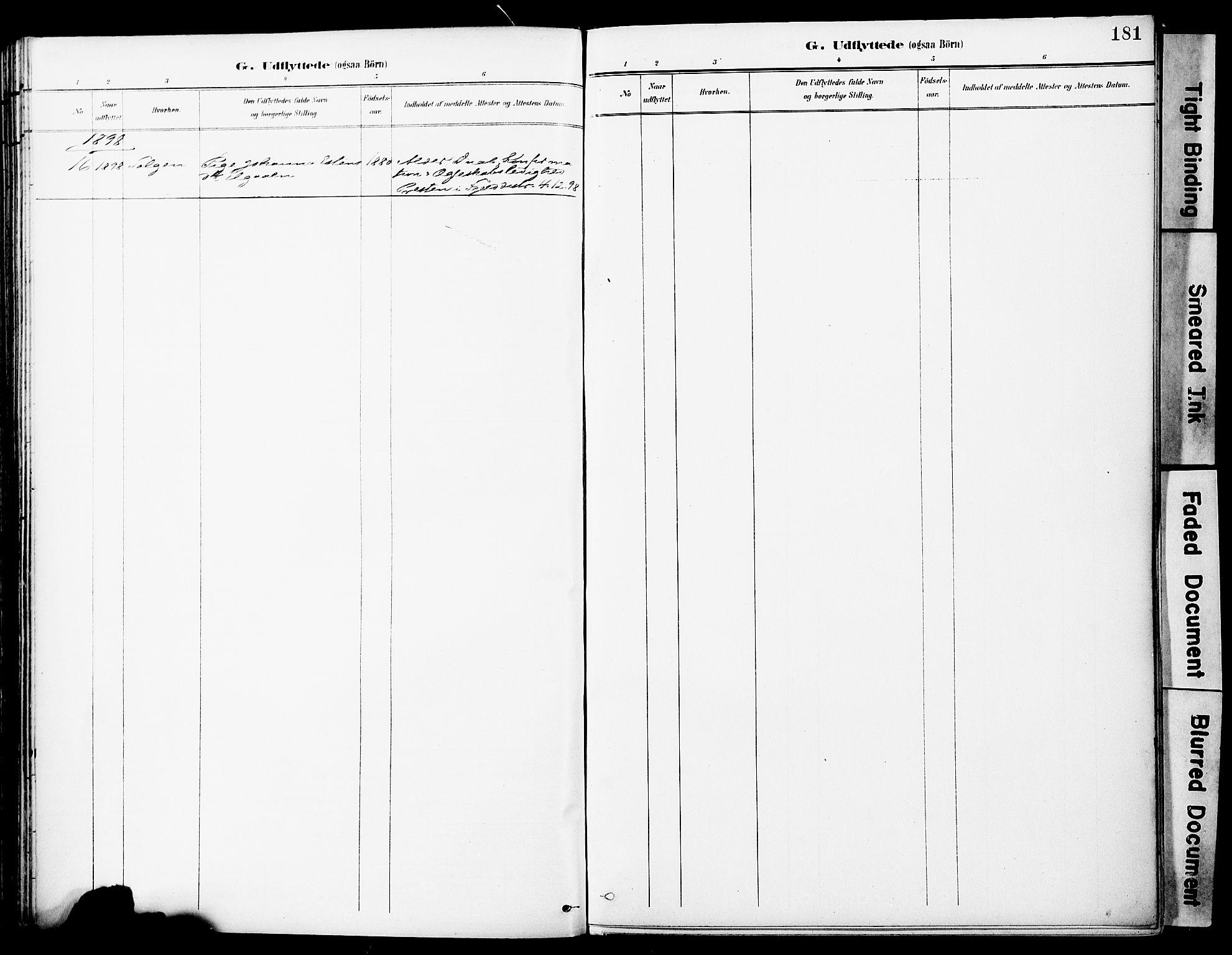 SAT, Ministerialprotokoller, klokkerbøker og fødselsregistre - Sør-Trøndelag, 681/L0935: Ministerialbok nr. 681A13, 1890-1898, s. 181