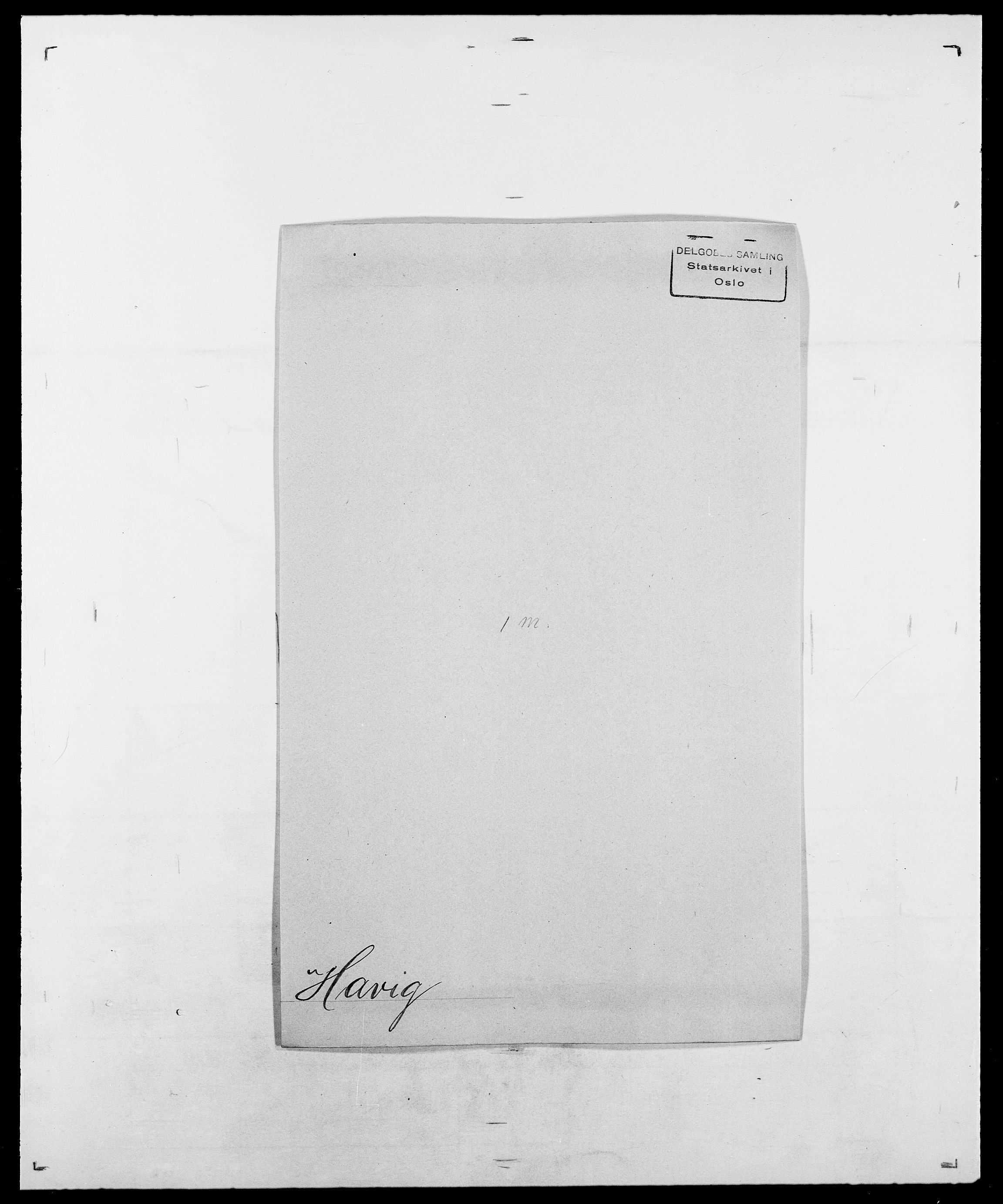 SAO, Delgobe, Charles Antoine - samling, D/Da/L0016: Hamborg - Hektoen, s. 630