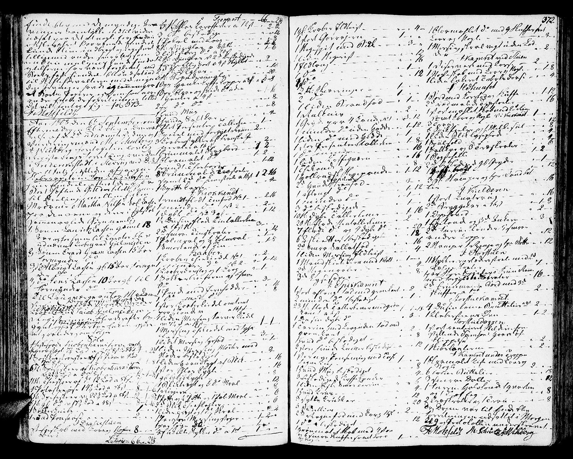 SAT, Molde byfogd, 3/3Aa/L0004: Skifteprotokoll, 1801-1822, s. 371b-372a