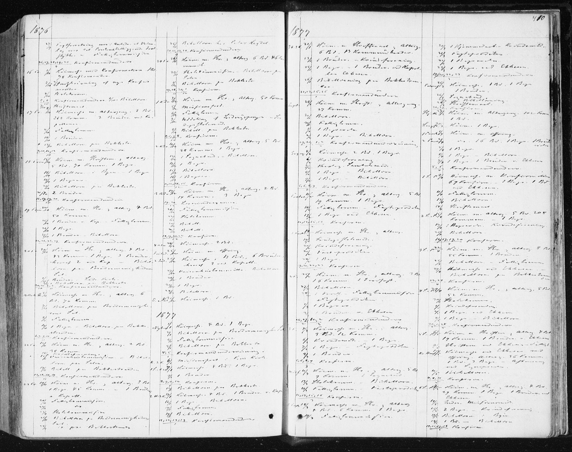 SAT, Ministerialprotokoller, klokkerbøker og fødselsregistre - Sør-Trøndelag, 604/L0186: Ministerialbok nr. 604A07, 1866-1877, s. 710