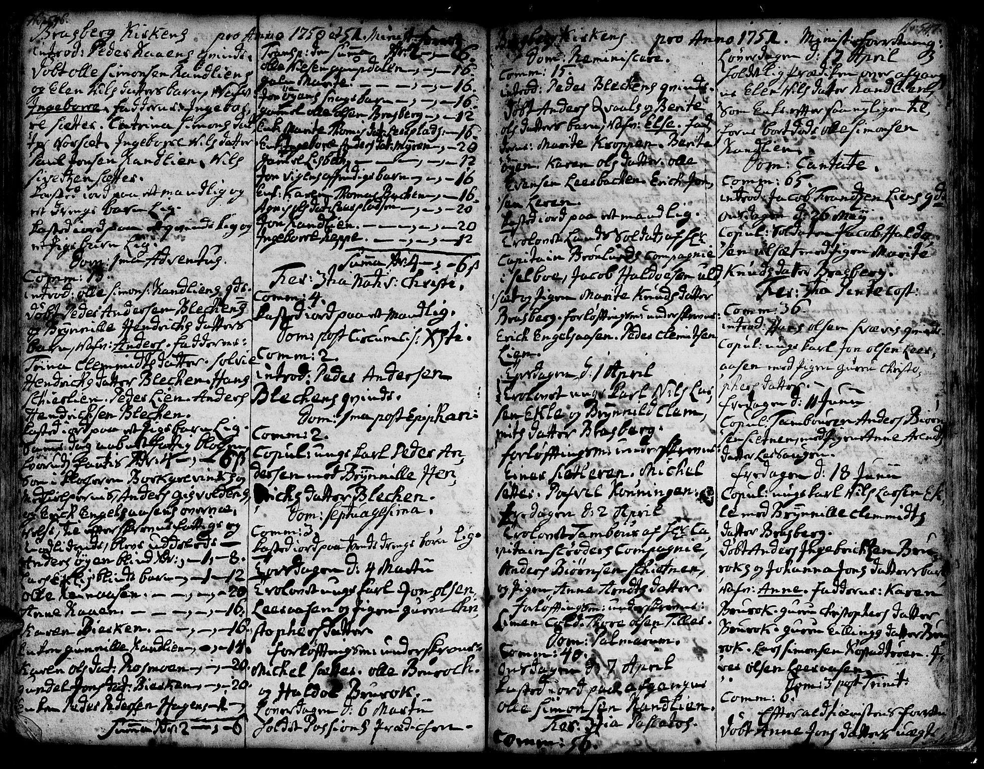 SAT, Ministerialprotokoller, klokkerbøker og fødselsregistre - Sør-Trøndelag, 606/L0278: Ministerialbok nr. 606A01 /4, 1727-1780, s. 546-547