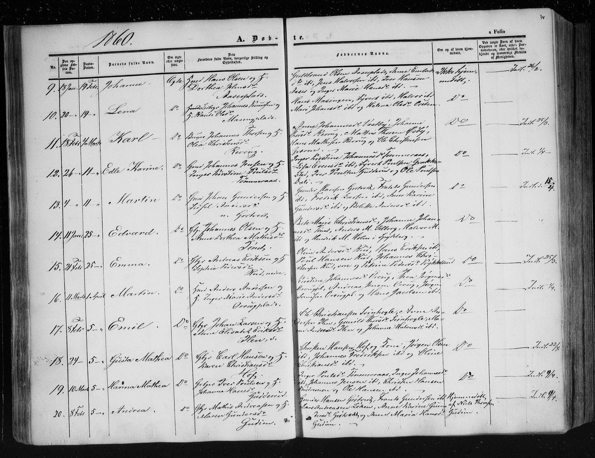 SAO, Askim prestekontor Kirkebøker, F/Fa/L0005: Ministerialbok nr. 5, 1847-1879, s. 48