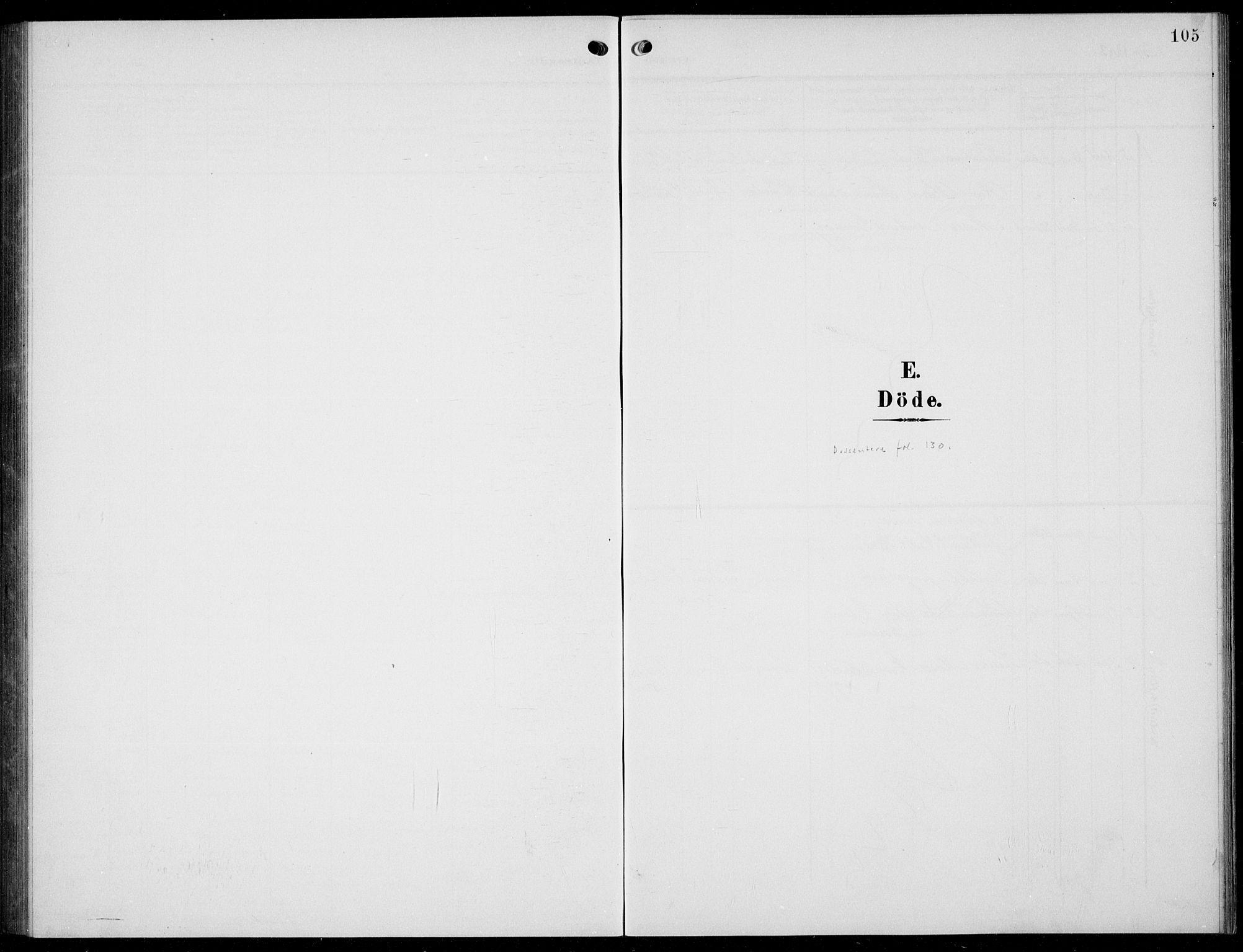 SAKO, Solum kirkebøker, G/Gc/L0002: Klokkerbok nr. III 2, 1902-1934, s. 105