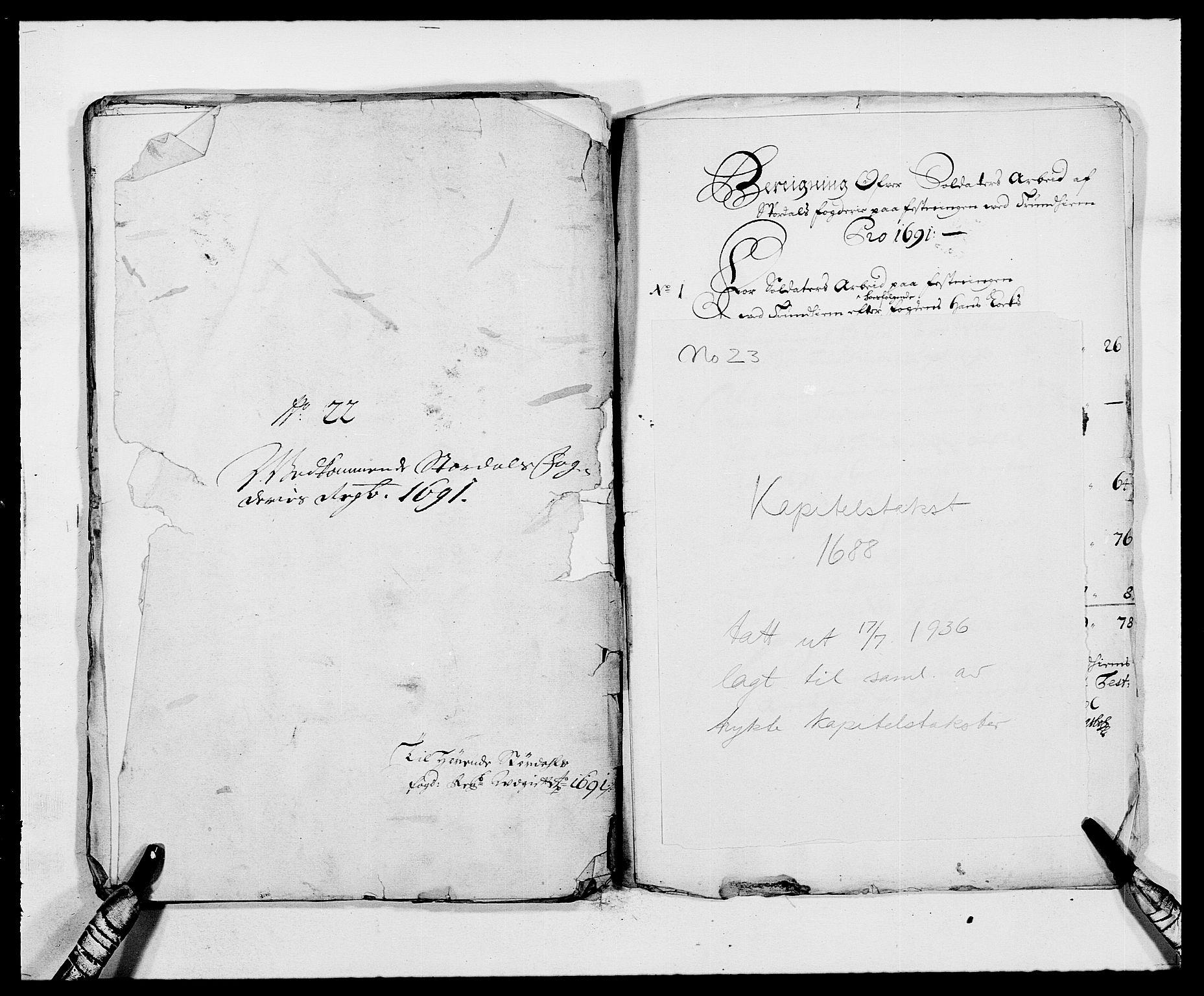 RA, Rentekammeret inntil 1814, Reviderte regnskaper, Fogderegnskap, R62/L4184: Fogderegnskap Stjørdal og Verdal, 1690-1691, s. 476