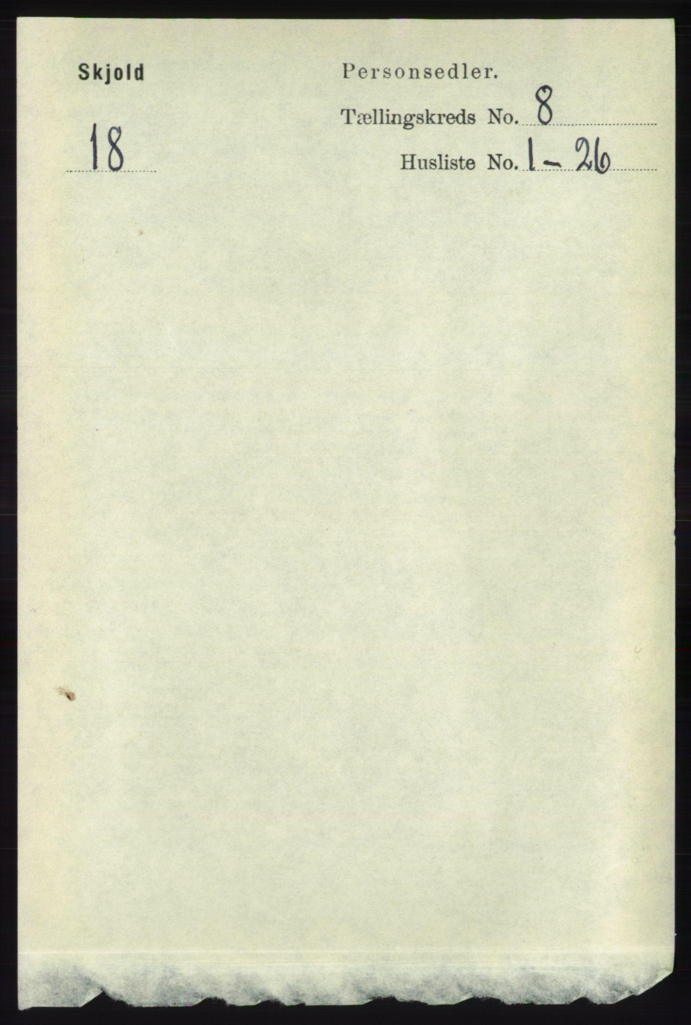 RA, Folketelling 1891 for 1154 Skjold herred, 1891, s. 1596