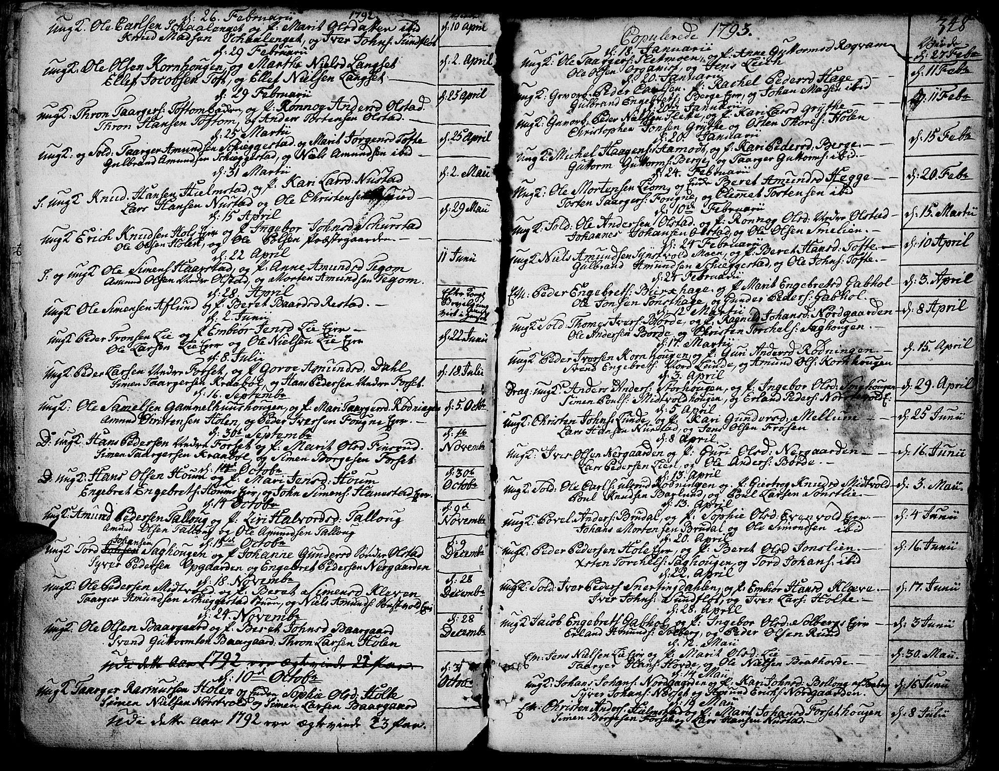 SAH, Gausdal prestekontor, Ministerialbok nr. 3, 1758-1809, s. 348