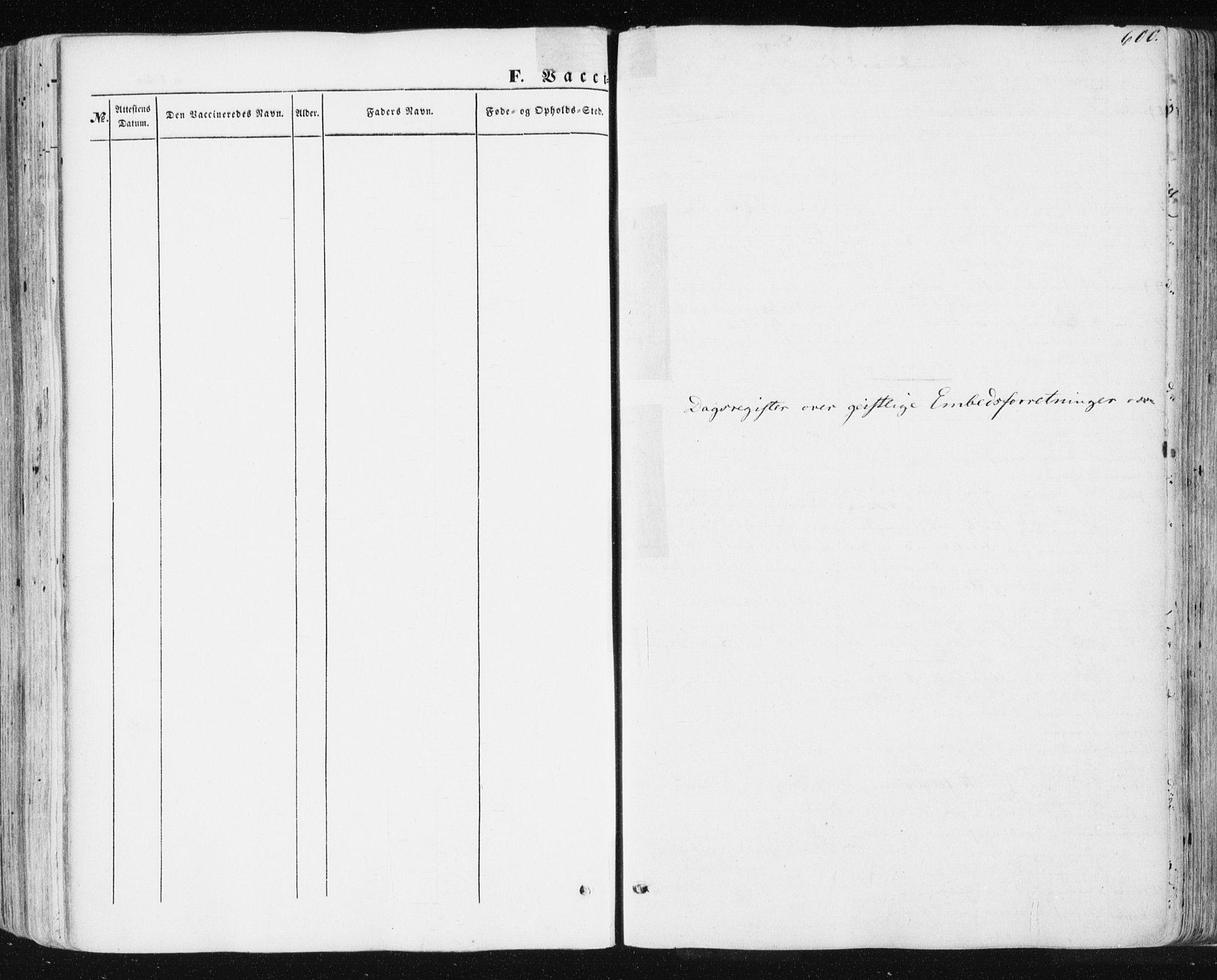 SAT, Ministerialprotokoller, klokkerbøker og fødselsregistre - Sør-Trøndelag, 678/L0899: Ministerialbok nr. 678A08, 1848-1872, s. 600