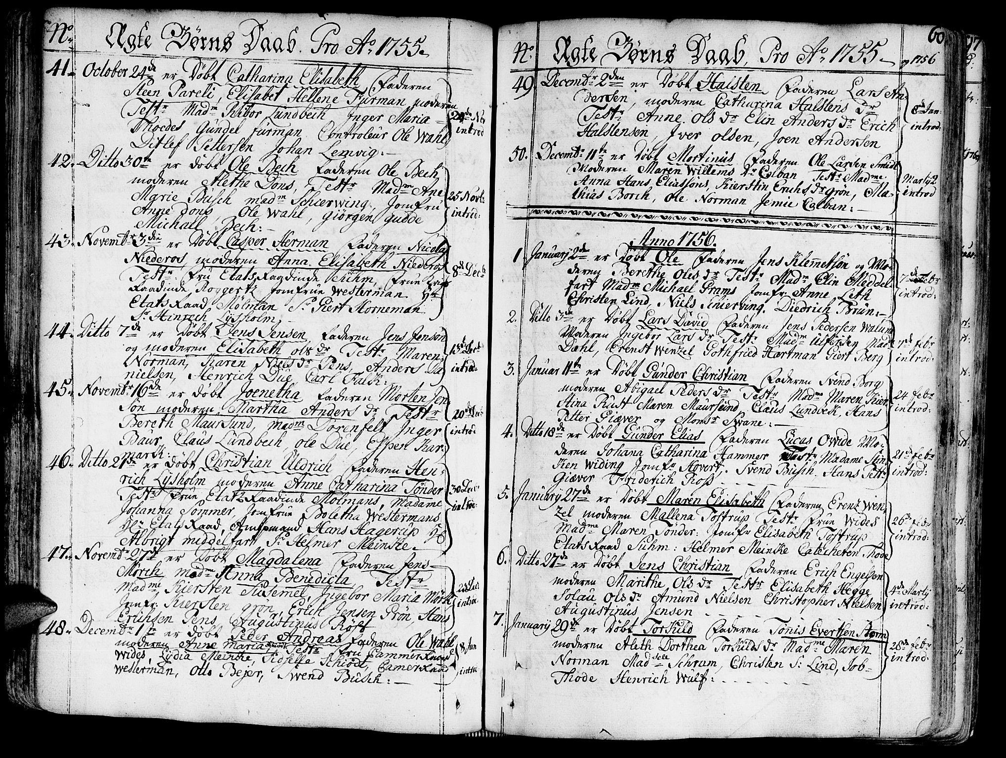 SAT, Ministerialprotokoller, klokkerbøker og fødselsregistre - Sør-Trøndelag, 602/L0103: Ministerialbok nr. 602A01, 1732-1774, s. 60