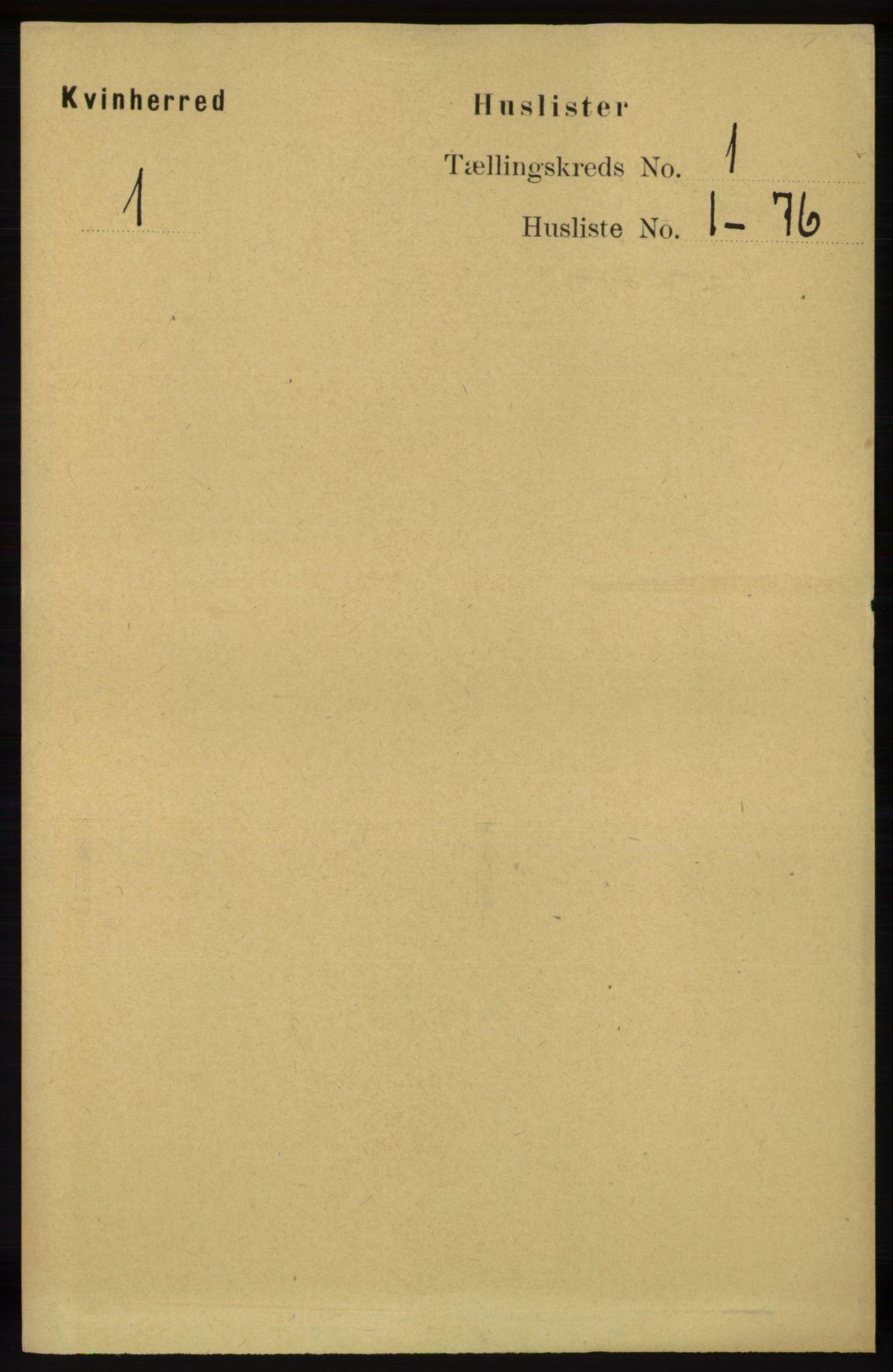 RA, Folketelling 1891 for 1224 Kvinnherad herred, 1891, s. 41