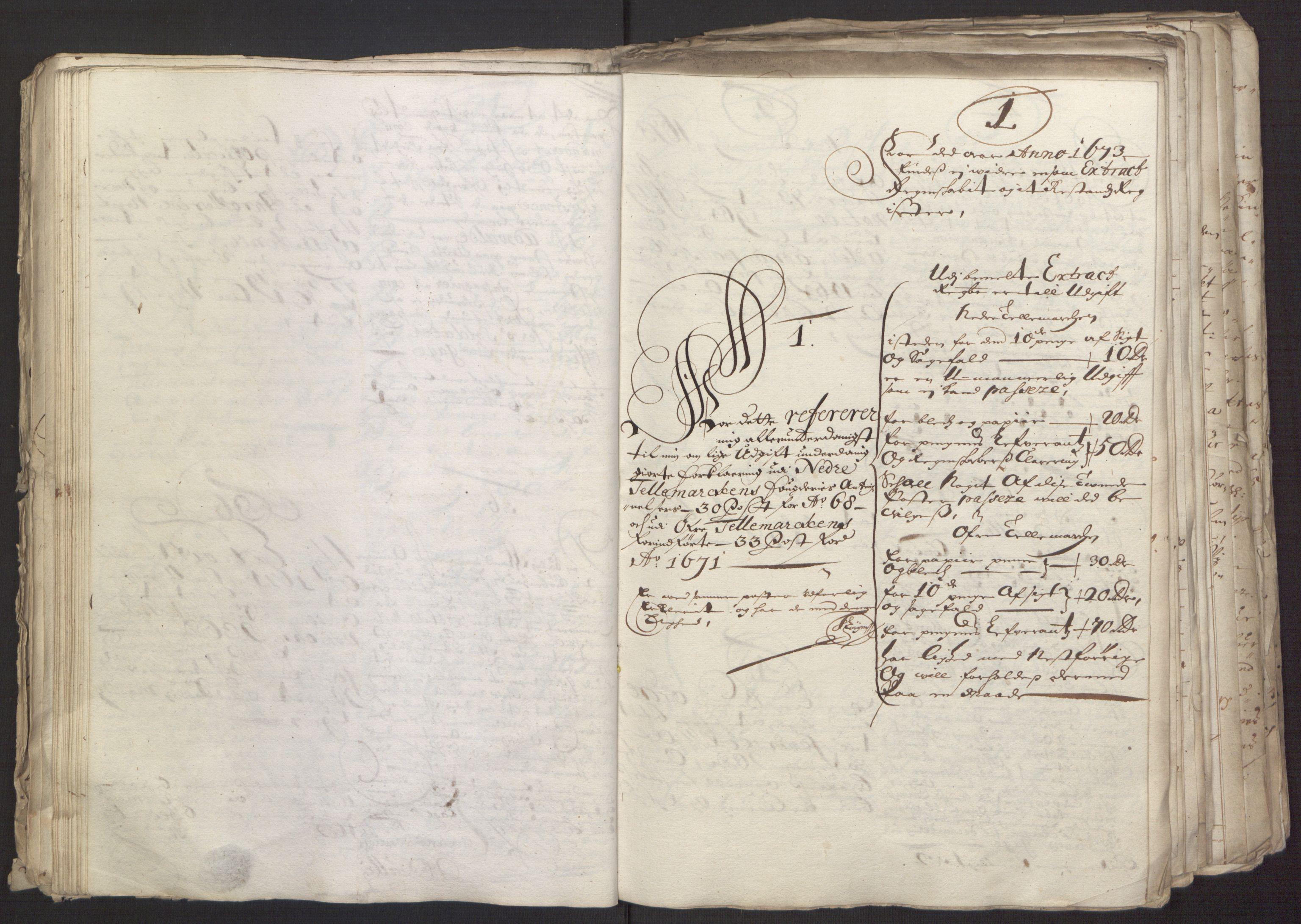 RA, Rentekammeret inntil 1814, Reviderte regnskaper, Fogderegnskap, R35/L2062: Fogderegnskap Øvre og Nedre Telemark, 1674, s. 41